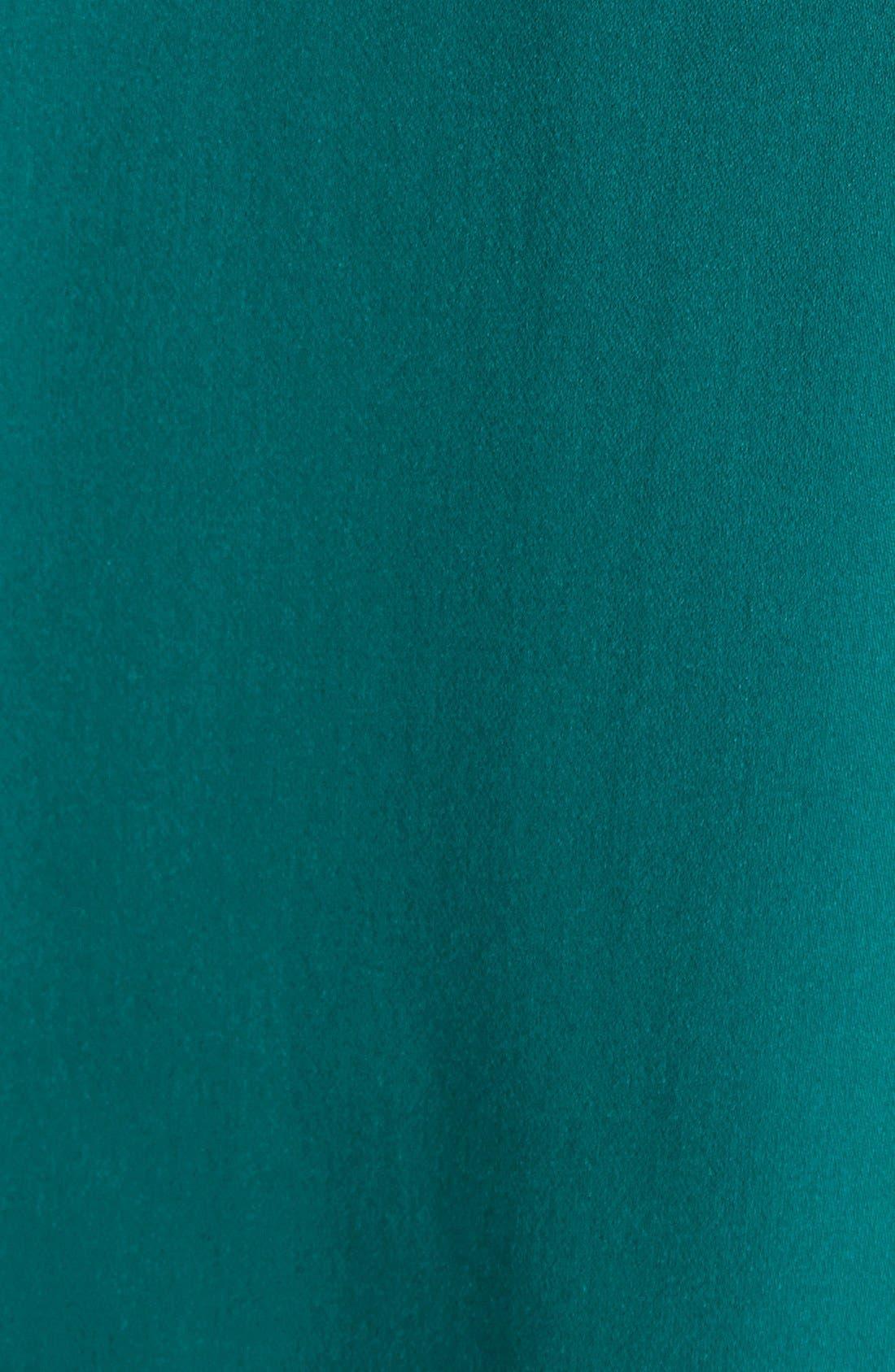 VINCE,                             'Popover' Cap Sleeve Silk Blouse,                             Alternate thumbnail 3, color,                             400