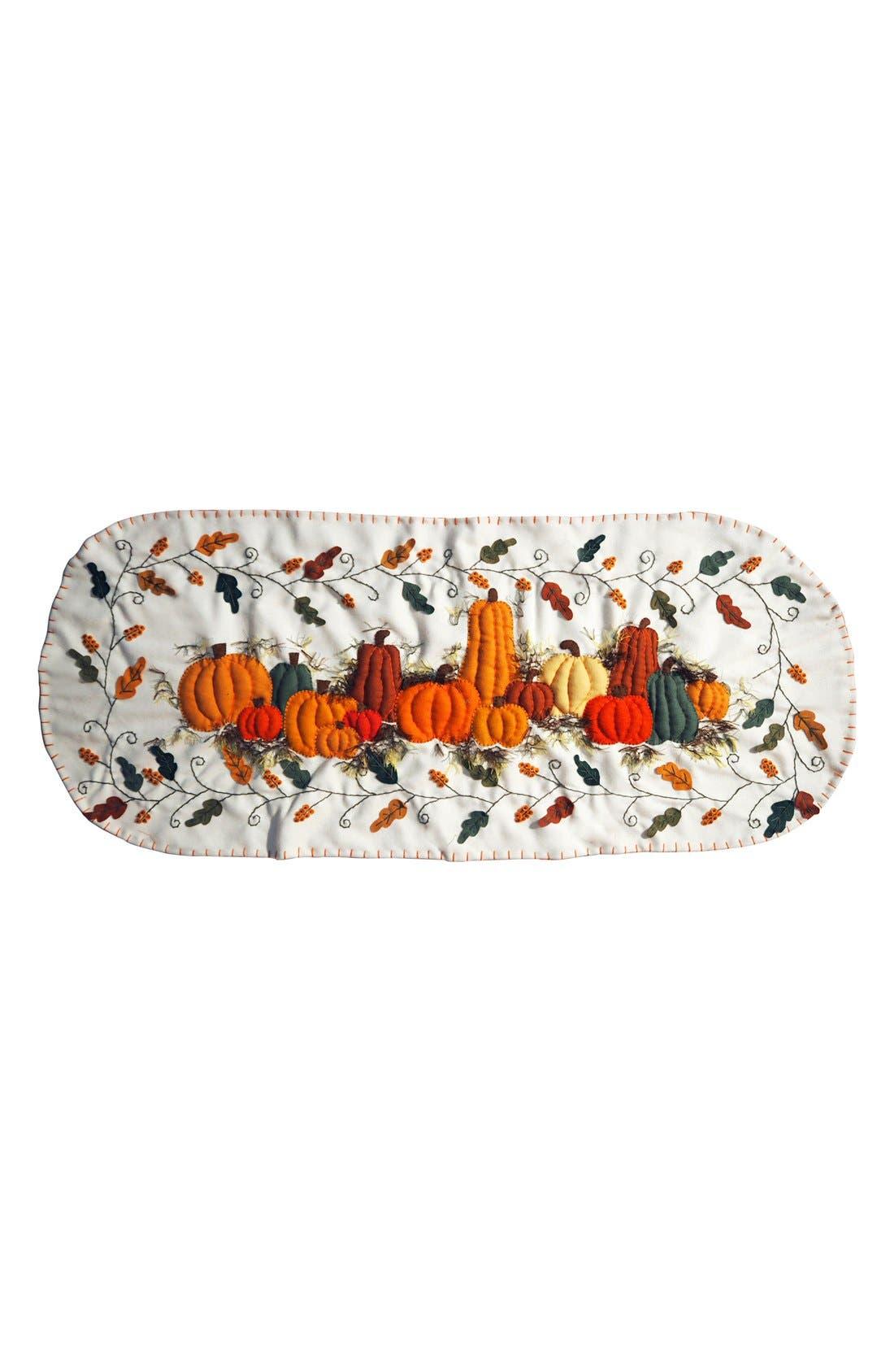 Pumpkins Table Runner,                             Main thumbnail 1, color,                             800