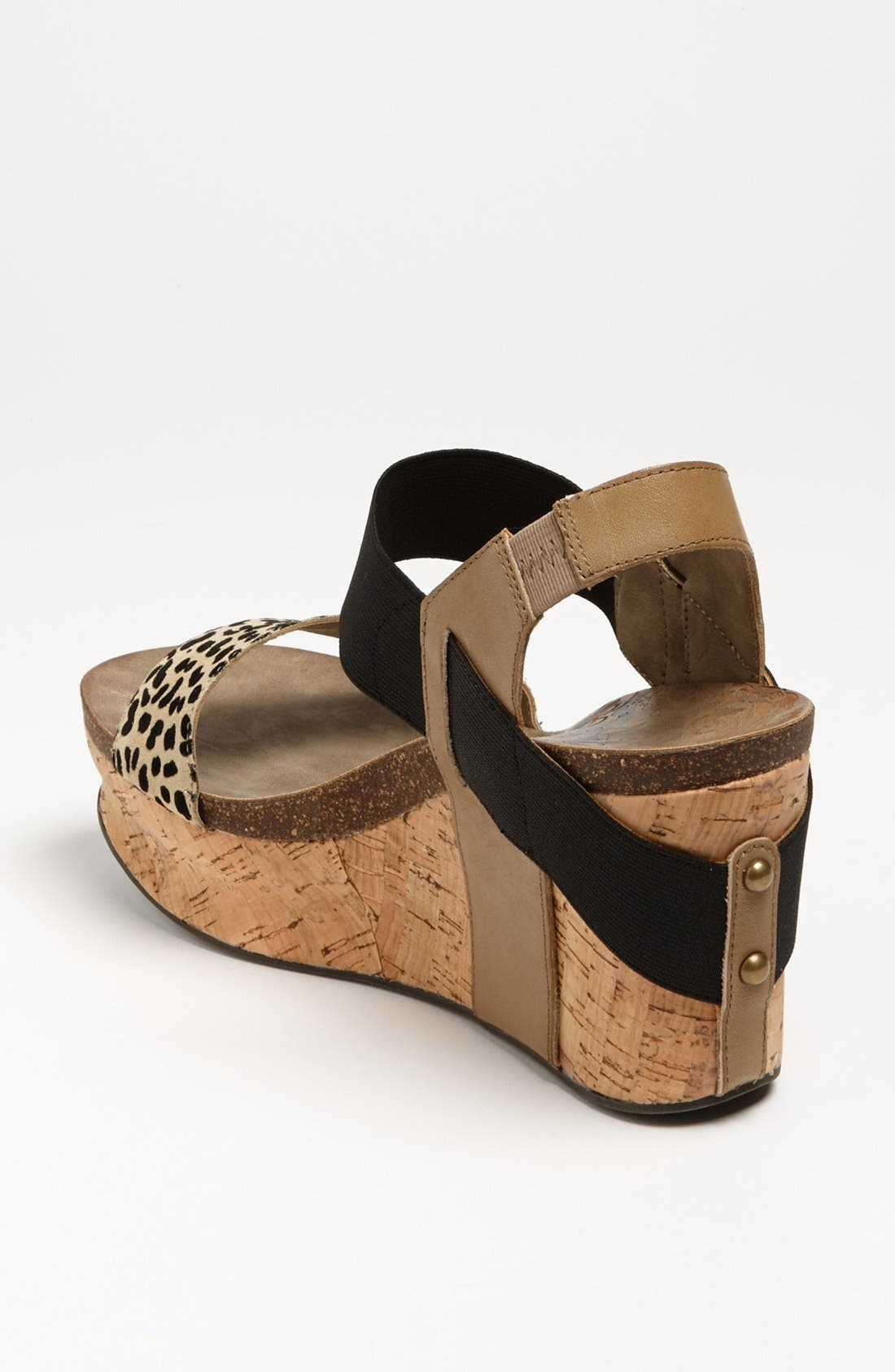 'Bushnell' Wedge Sandal,                             Alternate thumbnail 34, color,