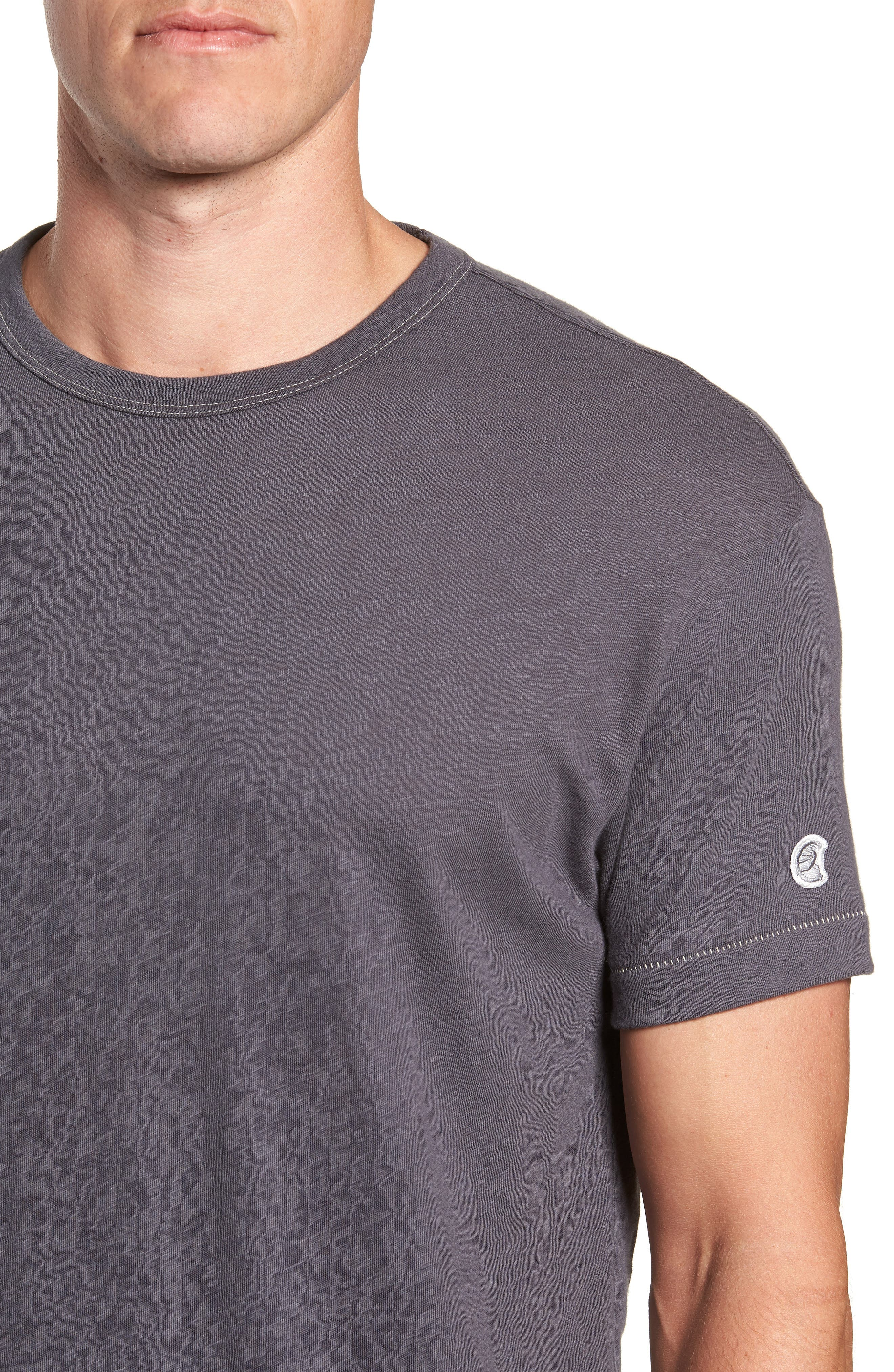 TODD SNYDER,                             + Champion Crewneck T-Shirt,                             Alternate thumbnail 4, color,                             060