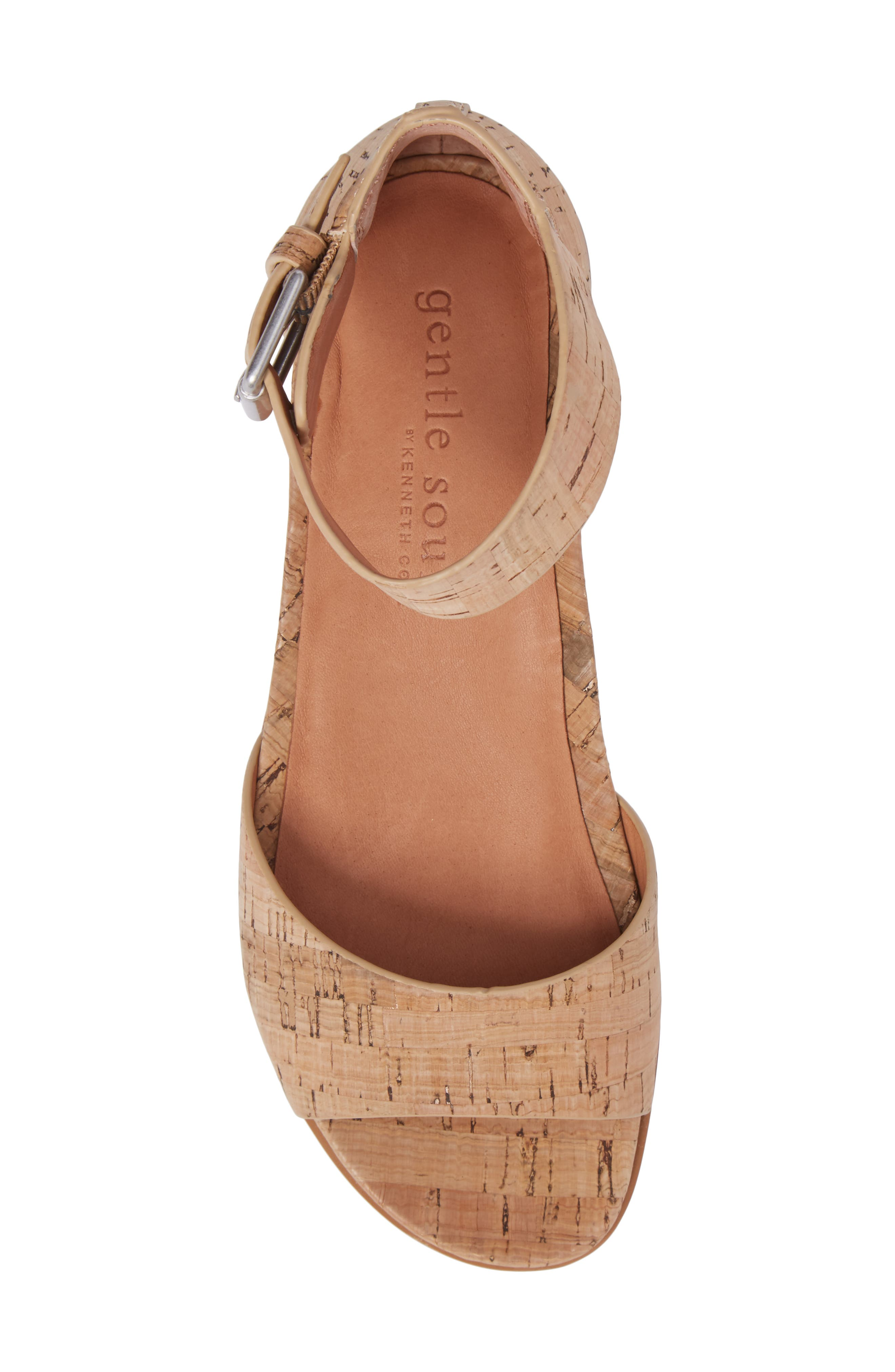 by Kenneth Cole Gracey Sandal,                             Alternate thumbnail 5, color,                             NATURAL CORK