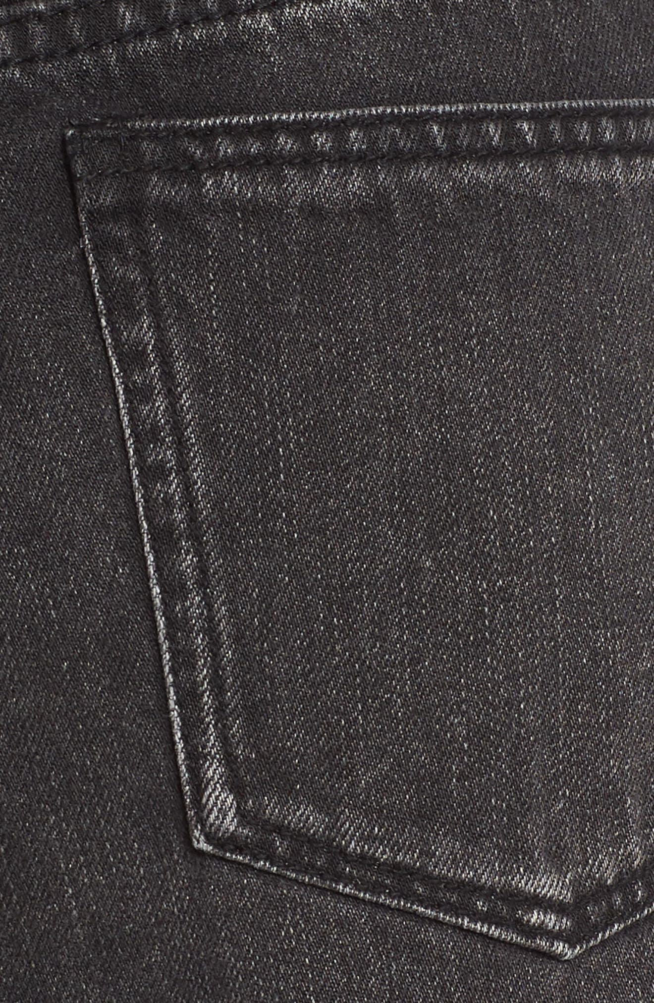 Riley Denim Shorts,                             Alternate thumbnail 6, color,