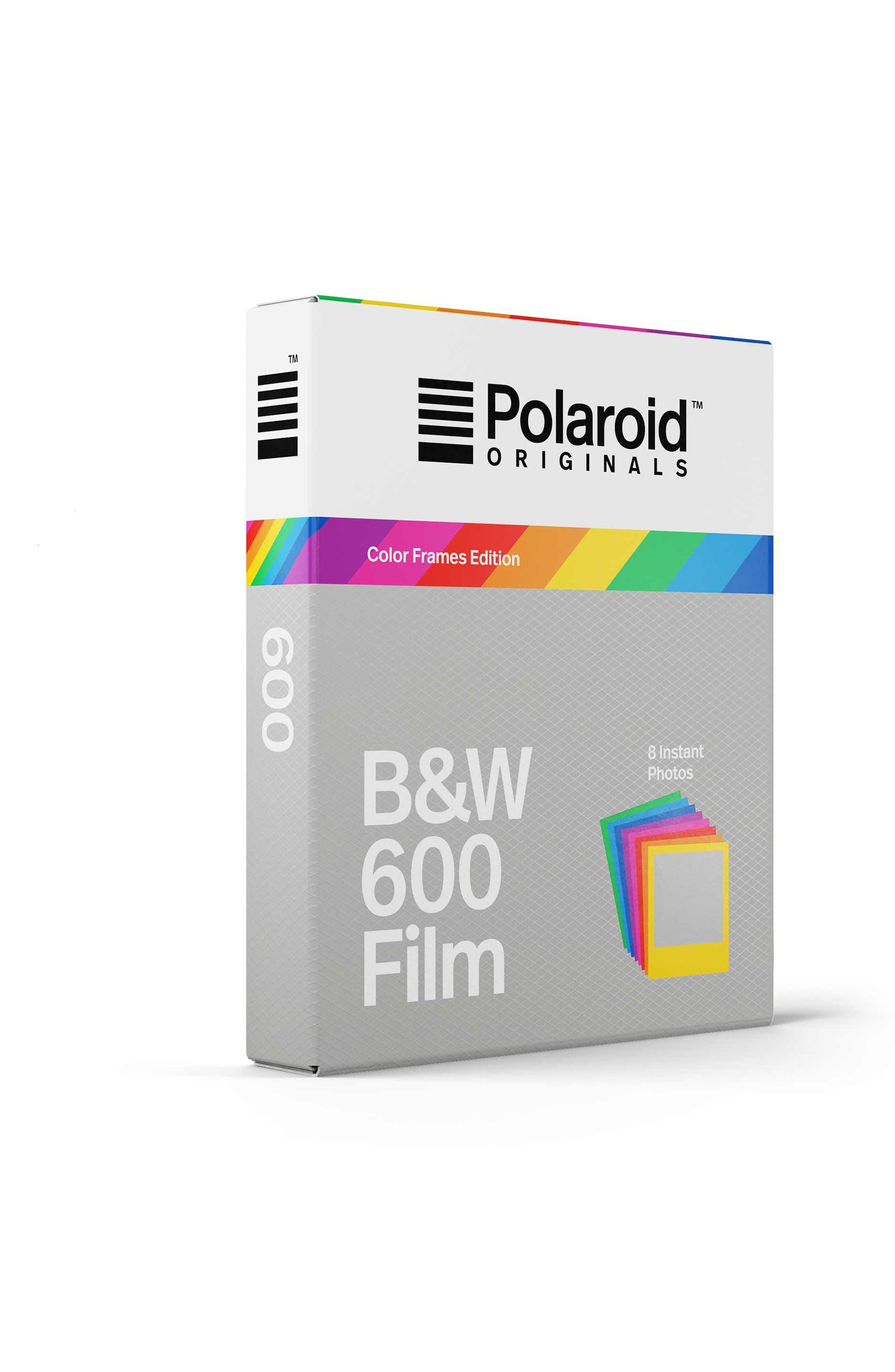 600 Multicolor Frame Black & White Instant Film,                             Alternate thumbnail 3, color,                             NONE