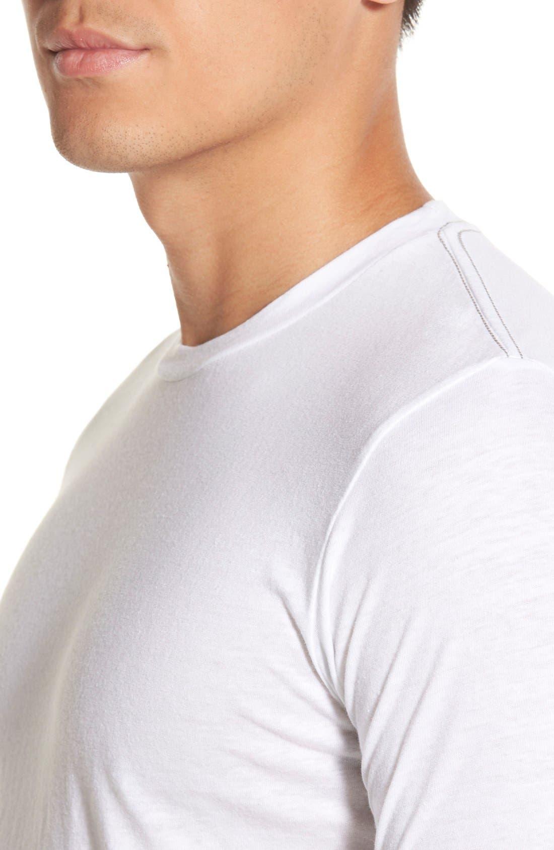 Scallop Triblend Crewneck T-Shirt,                             Alternate thumbnail 63, color,