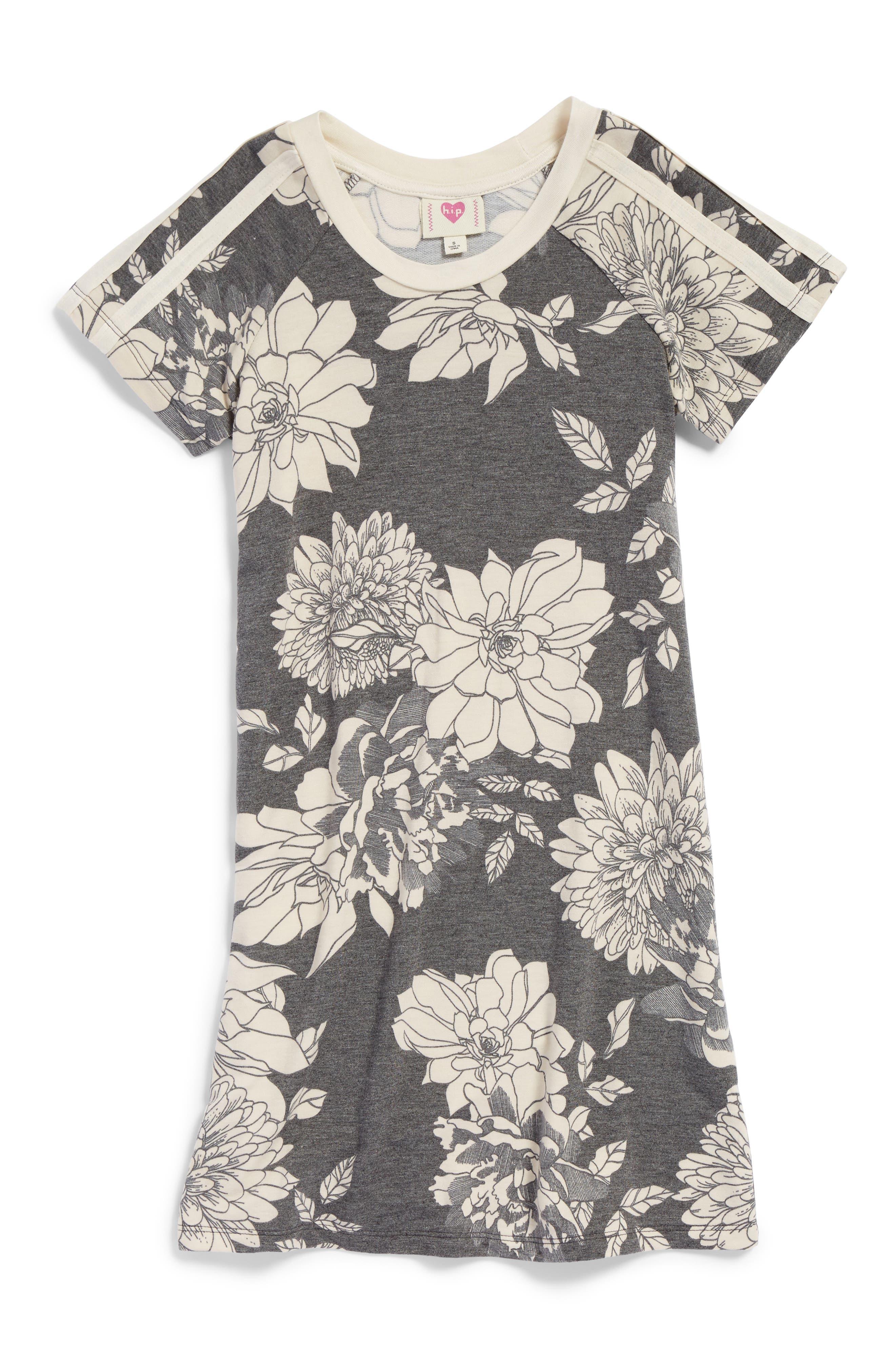 h.i.p Print Athletic Dress,                         Main,                         color, 023