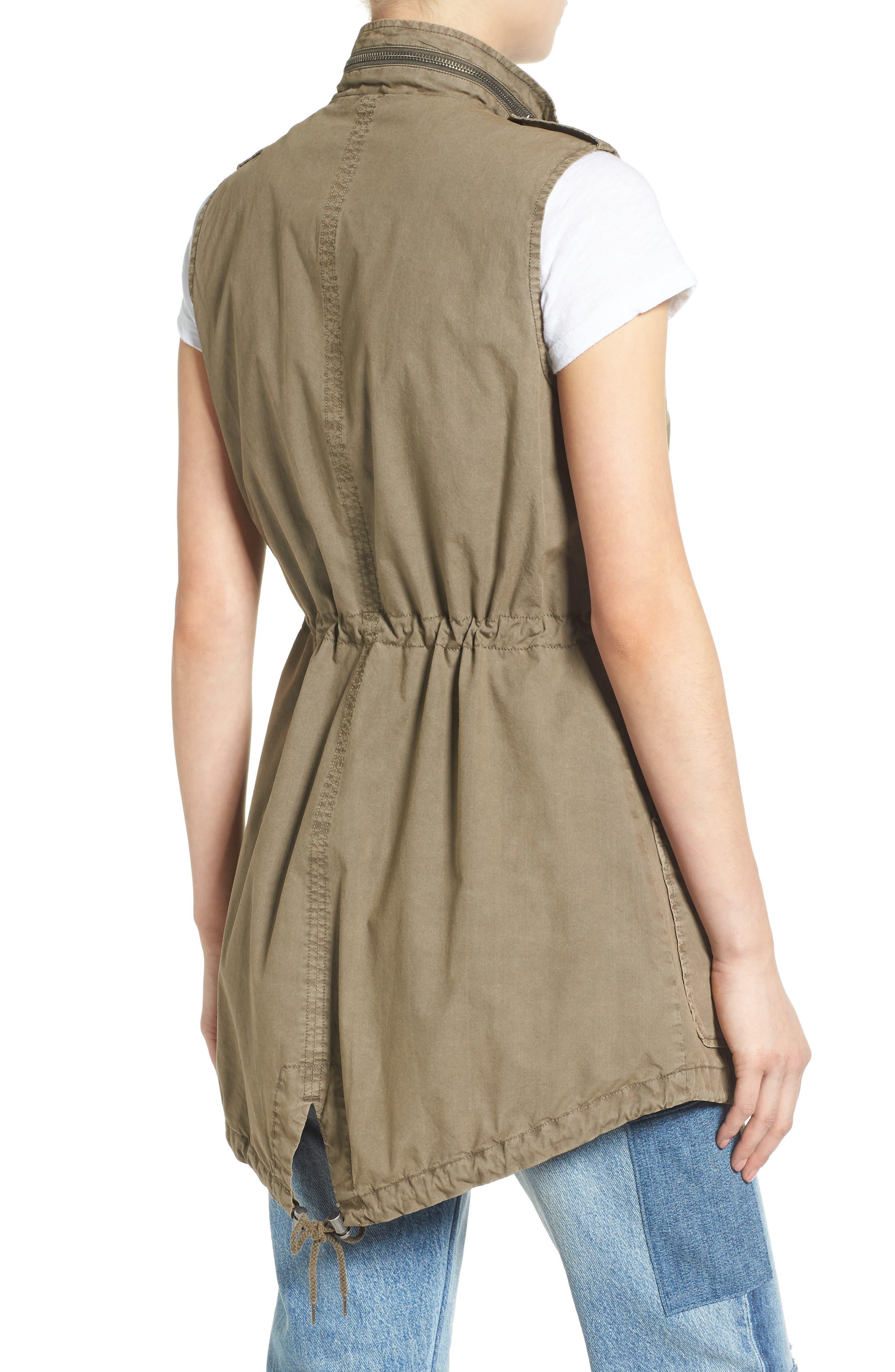 Levi's Parachute Cotton Vest,                             Alternate thumbnail 5, color,