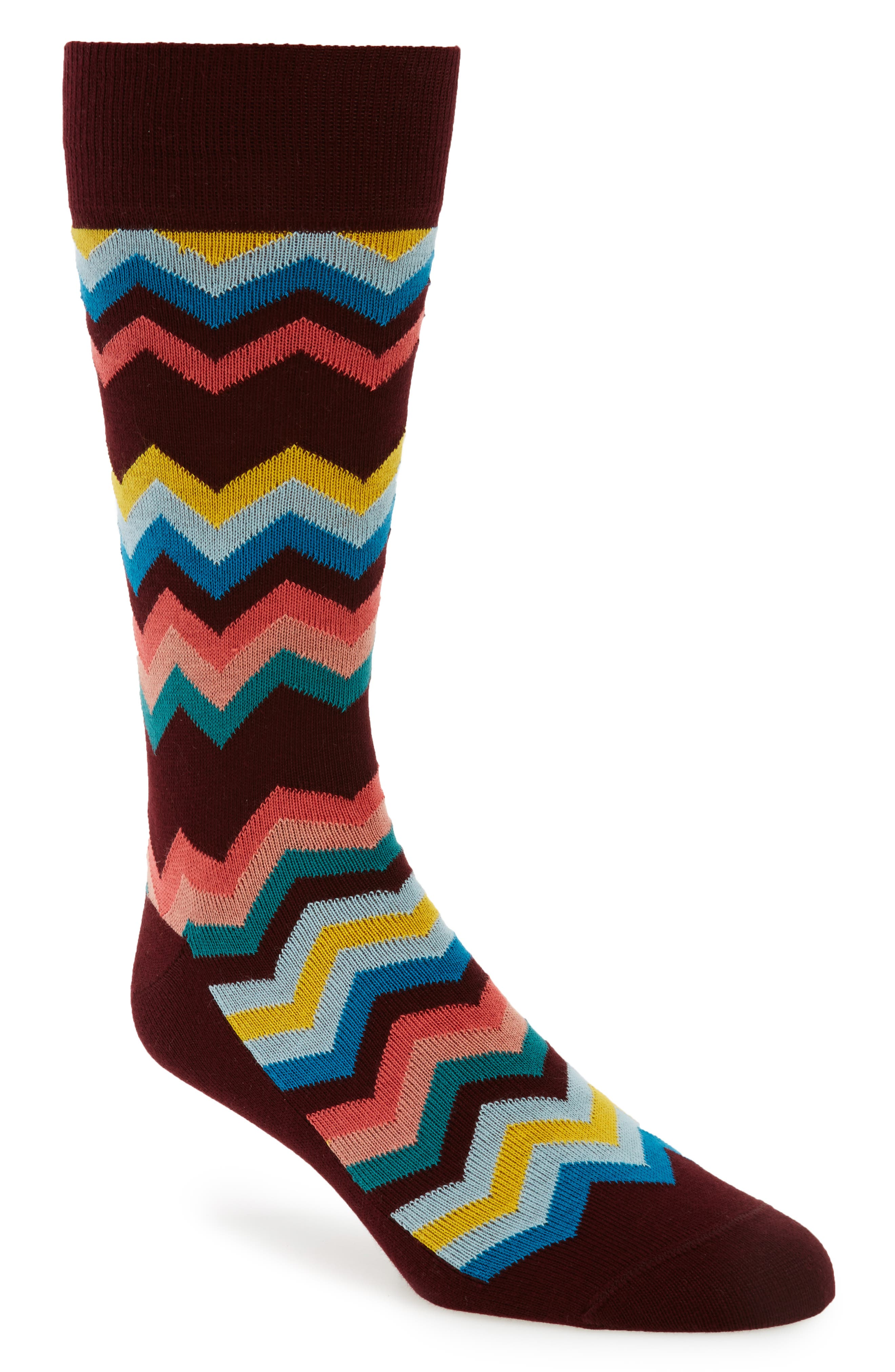 Fleet Chevron Socks,                             Main thumbnail 1, color,                             001