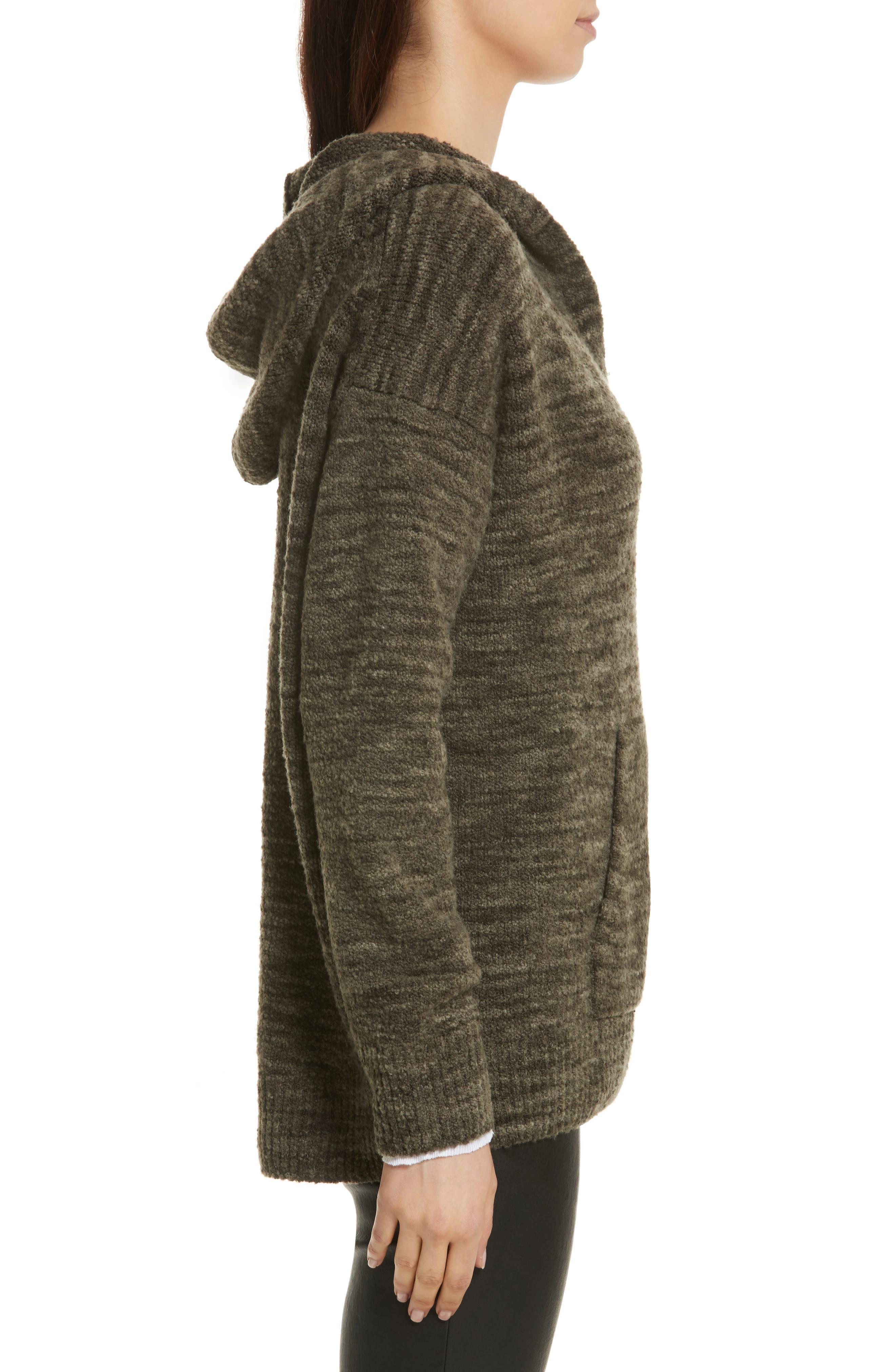 Space Dye Hoodie Sweater,                             Alternate thumbnail 3, color,                             343