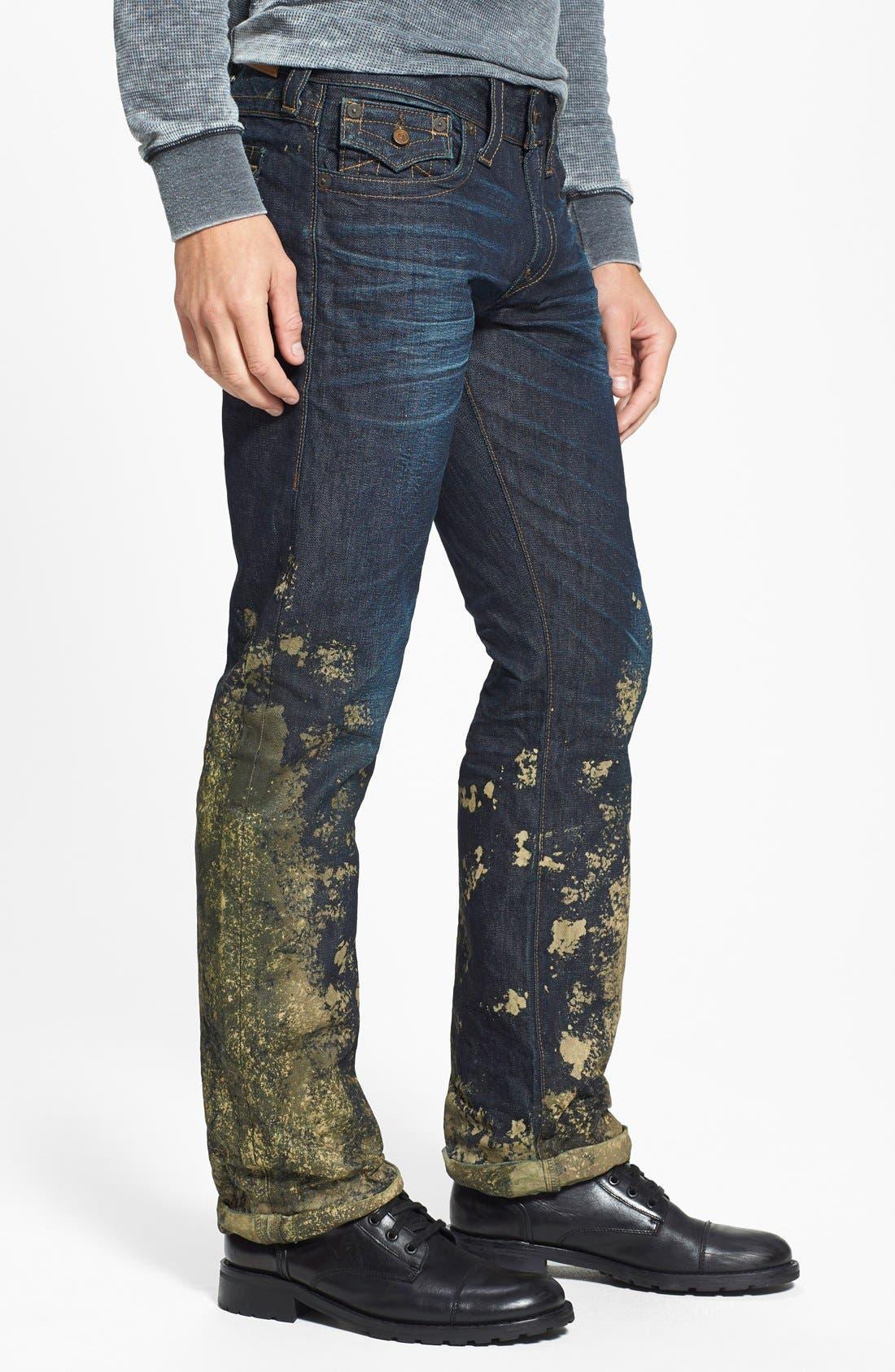 'Ricky' Relaxed Straight Leg Jeans,                             Alternate thumbnail 3, color,                             400