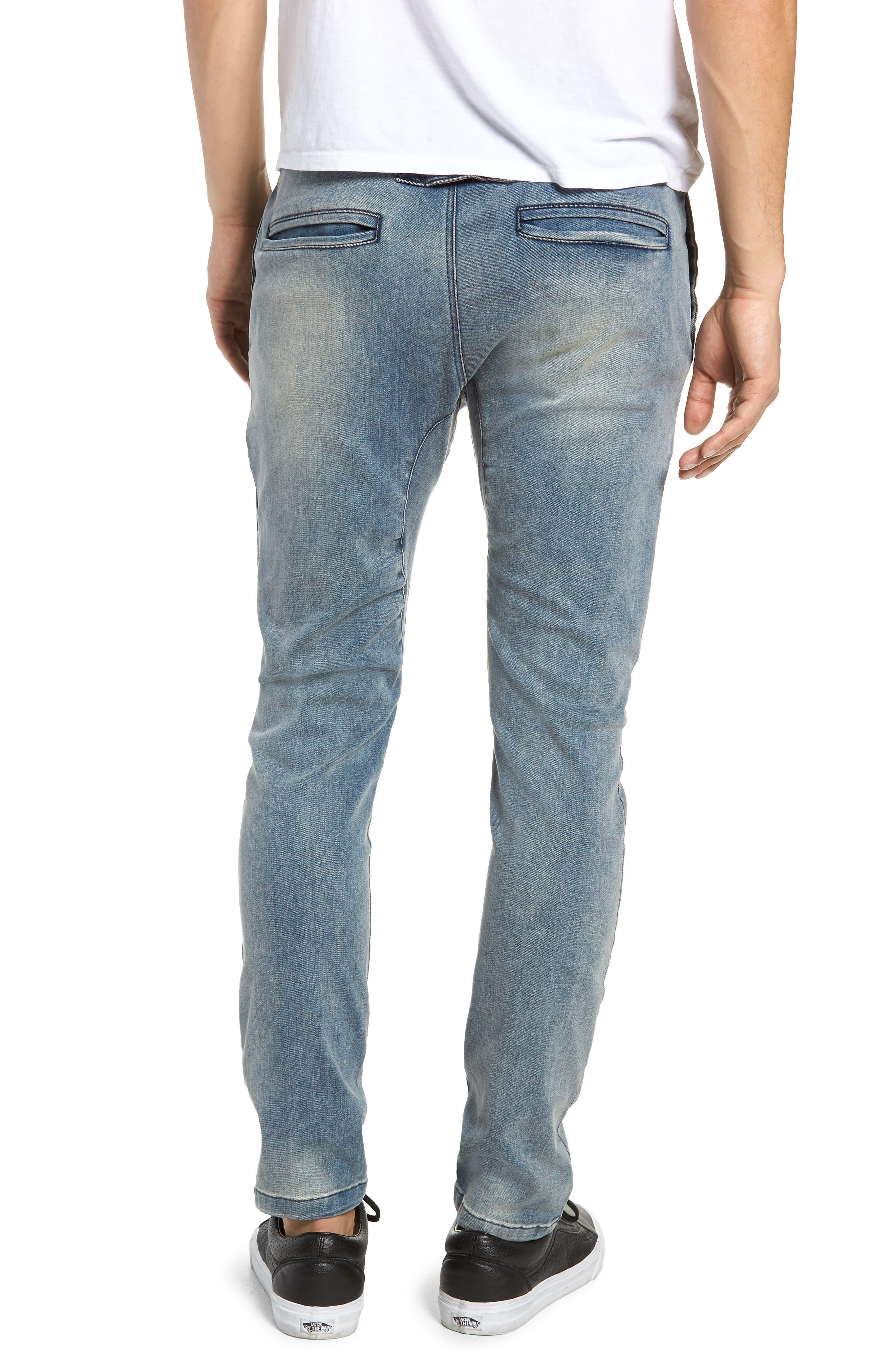 Salerno Flex Jeans,                             Alternate thumbnail 2, color,                             ABANDONED BLUE