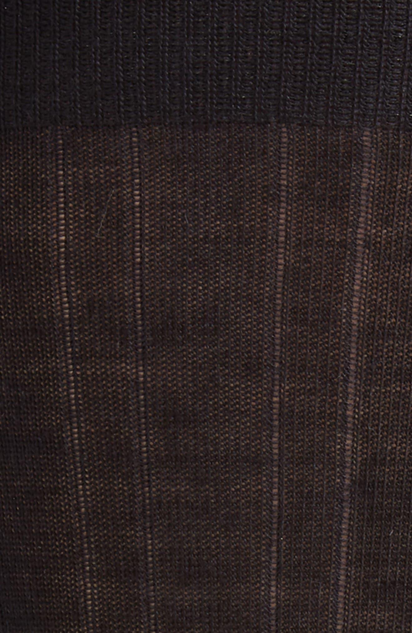 Solid Merino Wool Blend Socks,                             Alternate thumbnail 2, color,                             BLACK