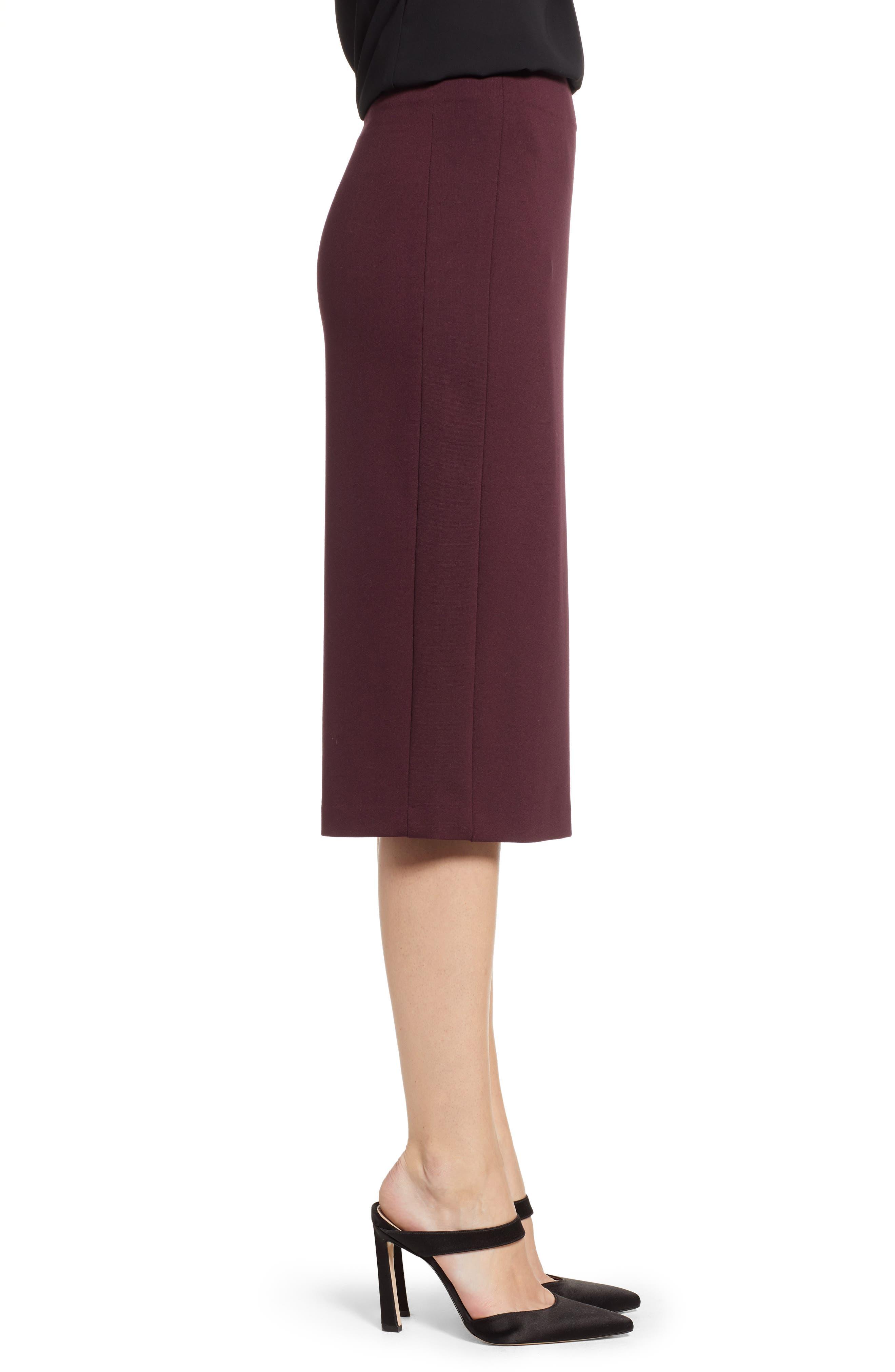 Ponte Midi Skirt,                             Alternate thumbnail 11, color,