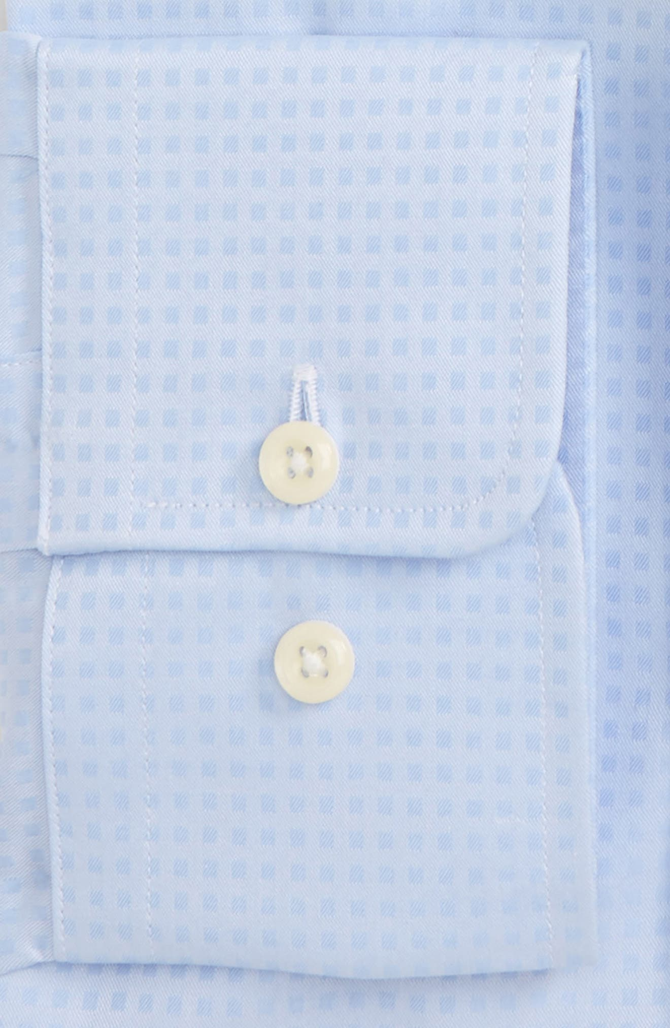 Trim Fit Check Dress Shirt,                             Alternate thumbnail 2, color,                             454