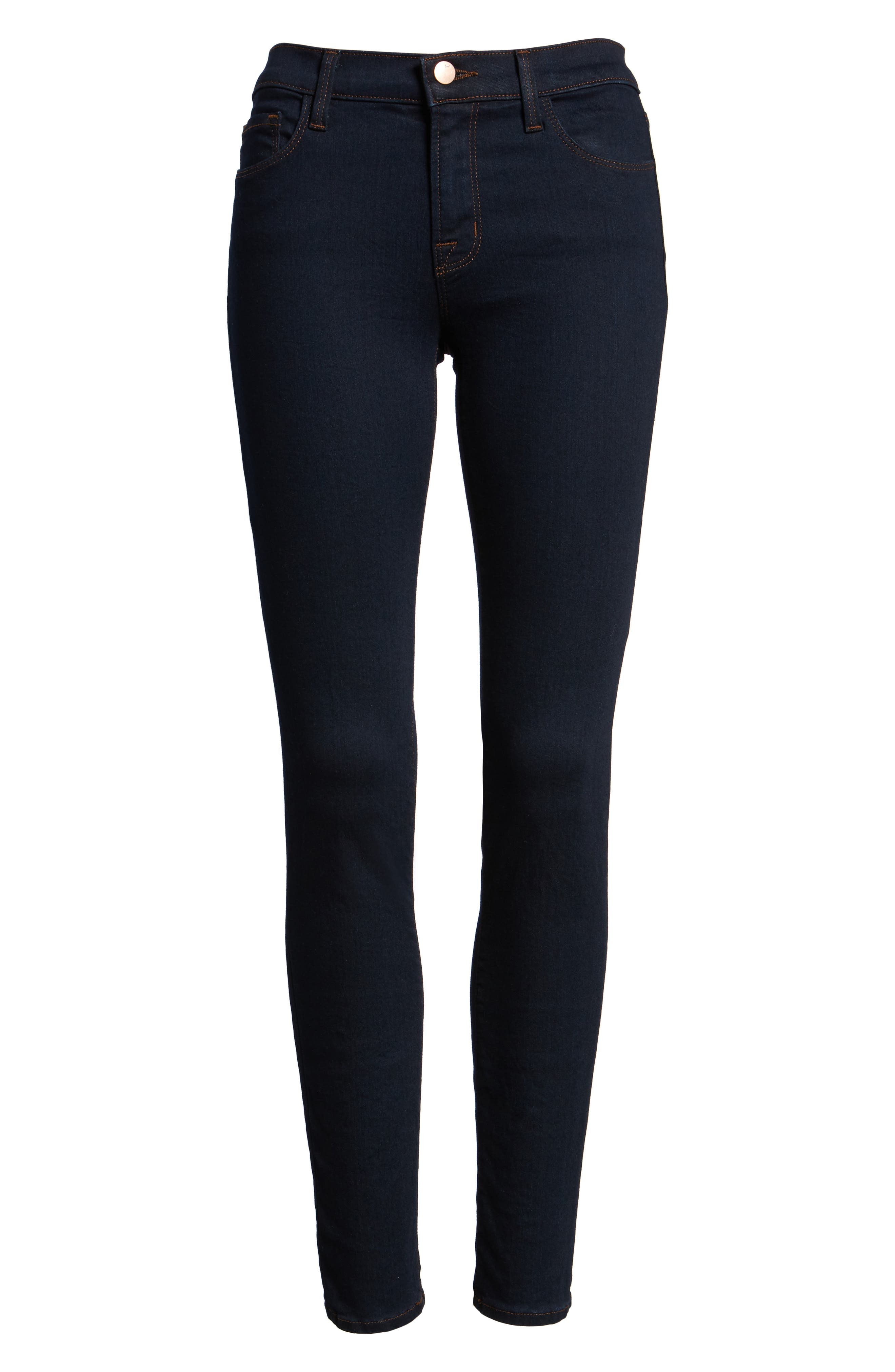 '811' Ankle Skinny Jeans,                             Alternate thumbnail 4, color,                             460