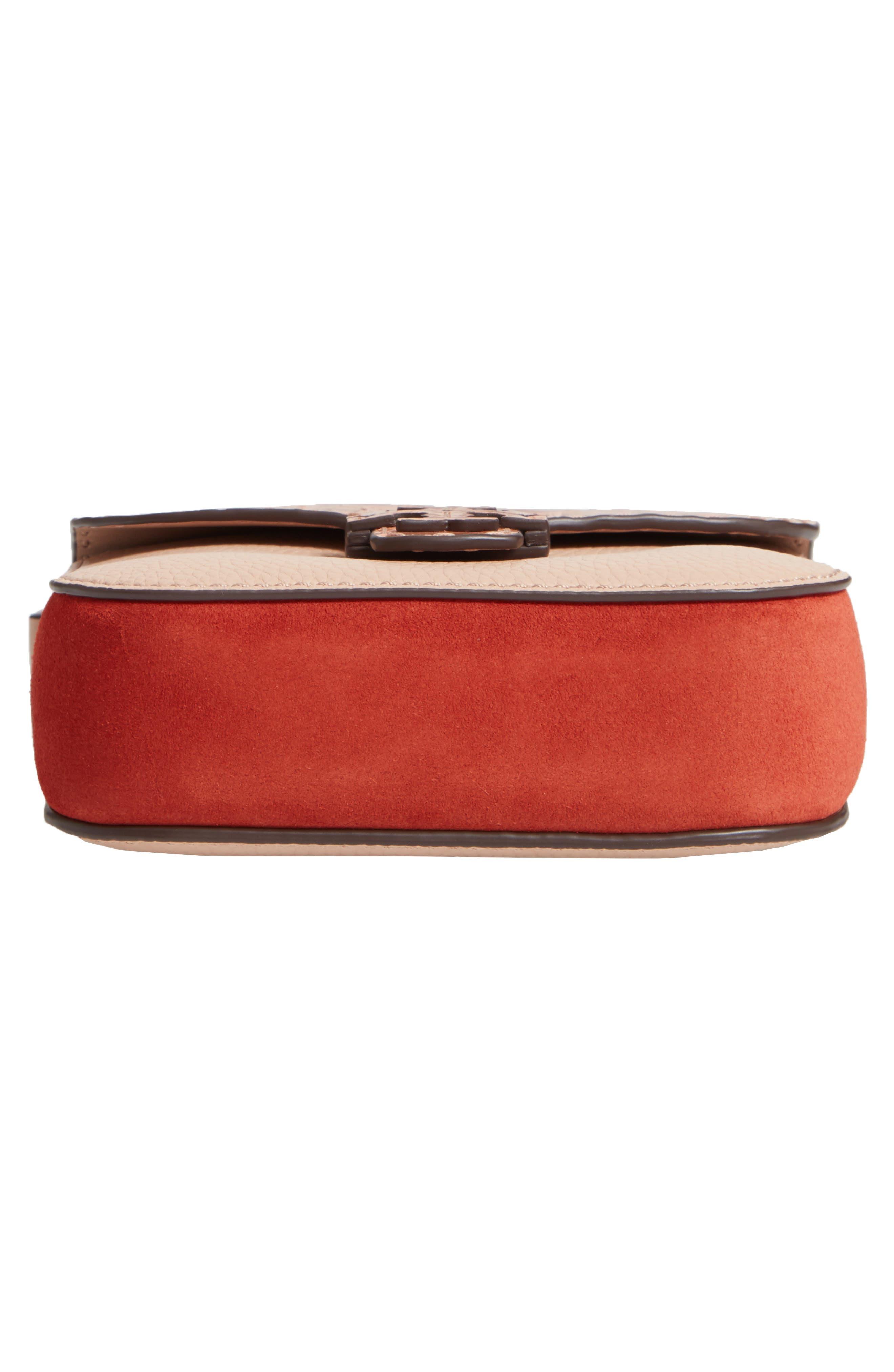 McGraw Croc Embossed Leather Crossbody Bag,                             Alternate thumbnail 6, color,                             200