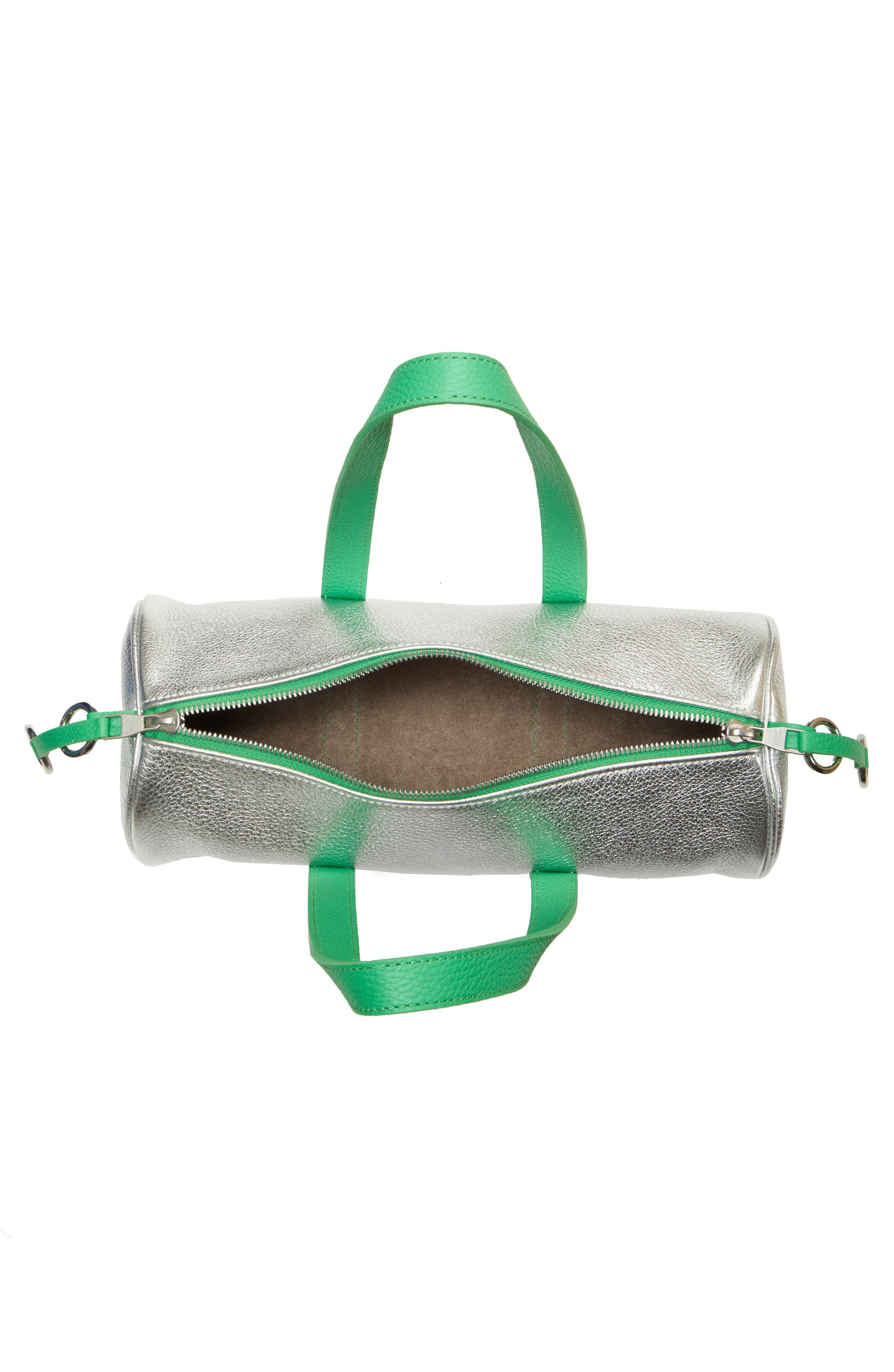 Mini Tool Kit Shoulder Bag,                             Alternate thumbnail 4, color,                             TIN FOIL