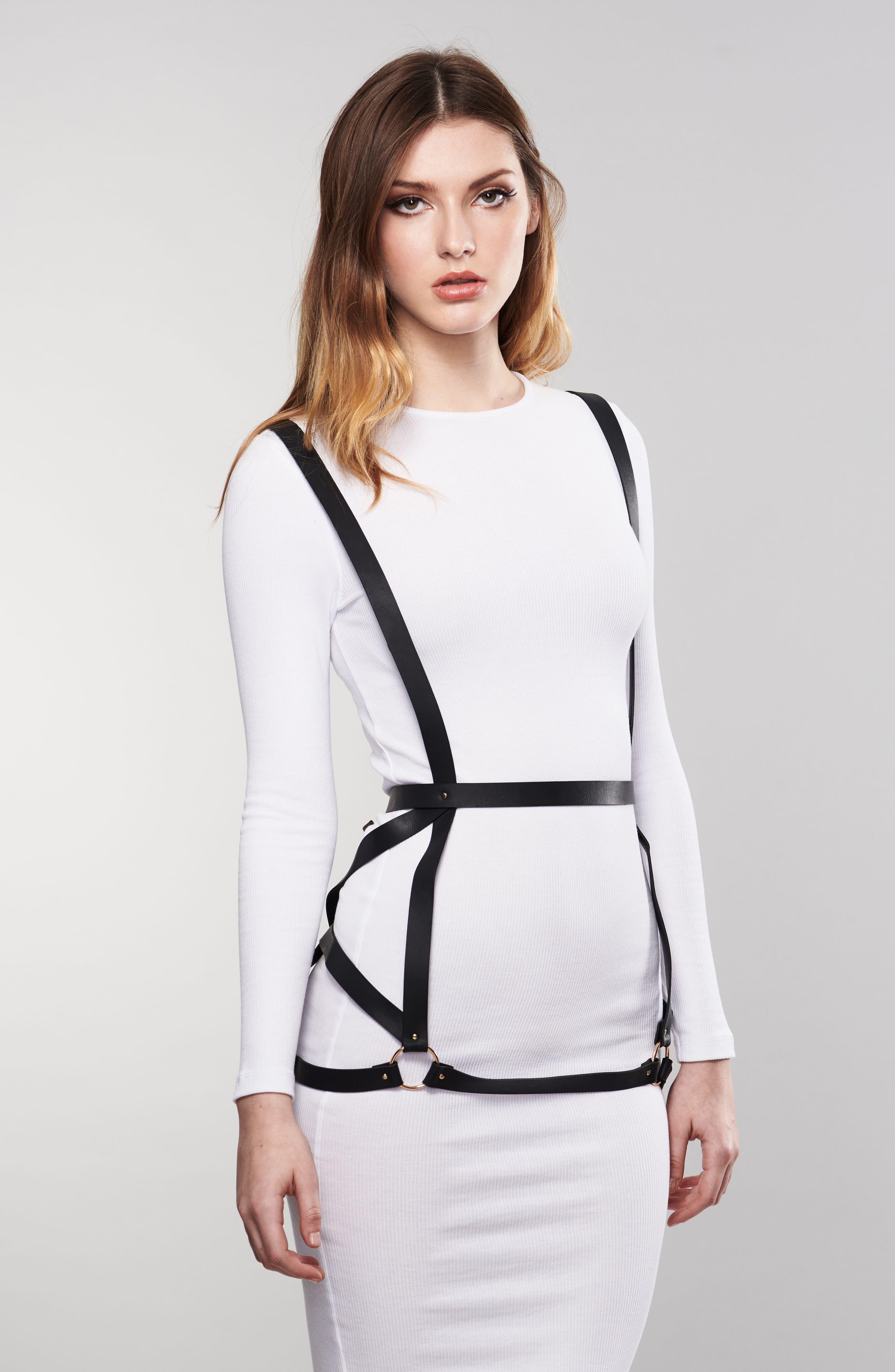 Maze Arrow Dress Harness,                             Alternate thumbnail 3, color,                             001