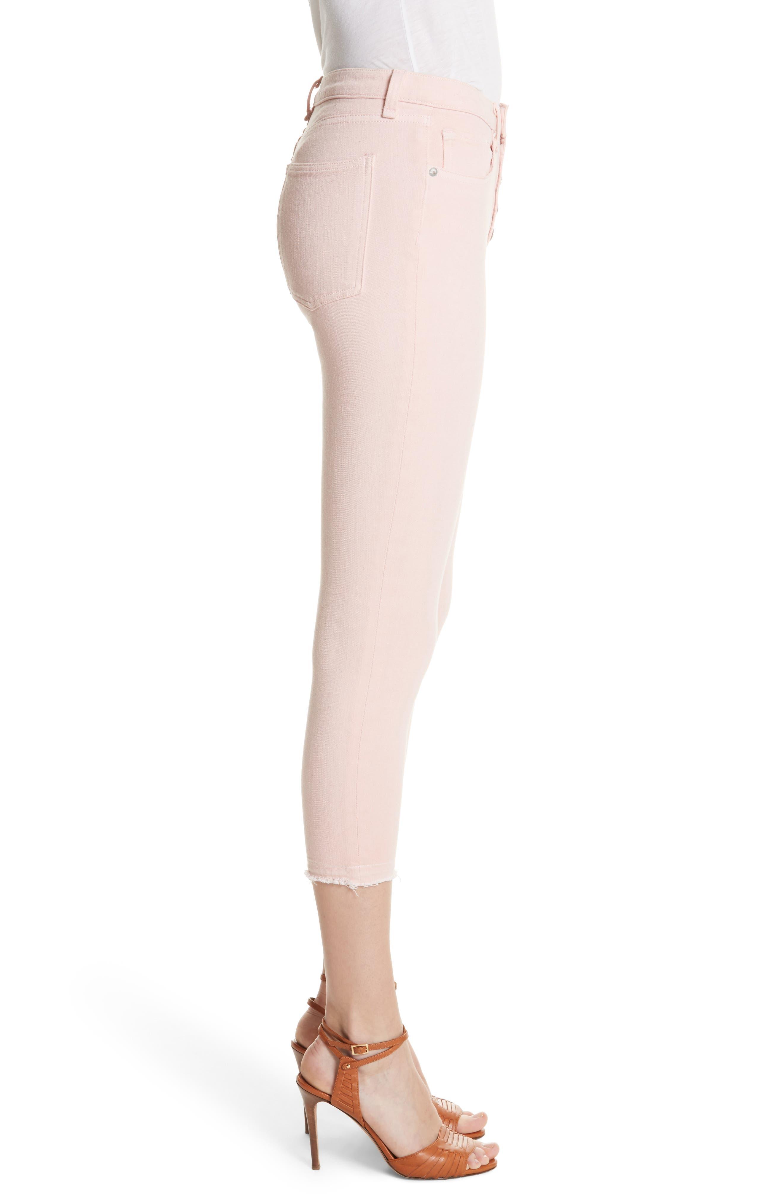 Debbie Frayed Crop Skinny Jeans,                             Alternate thumbnail 12, color,
