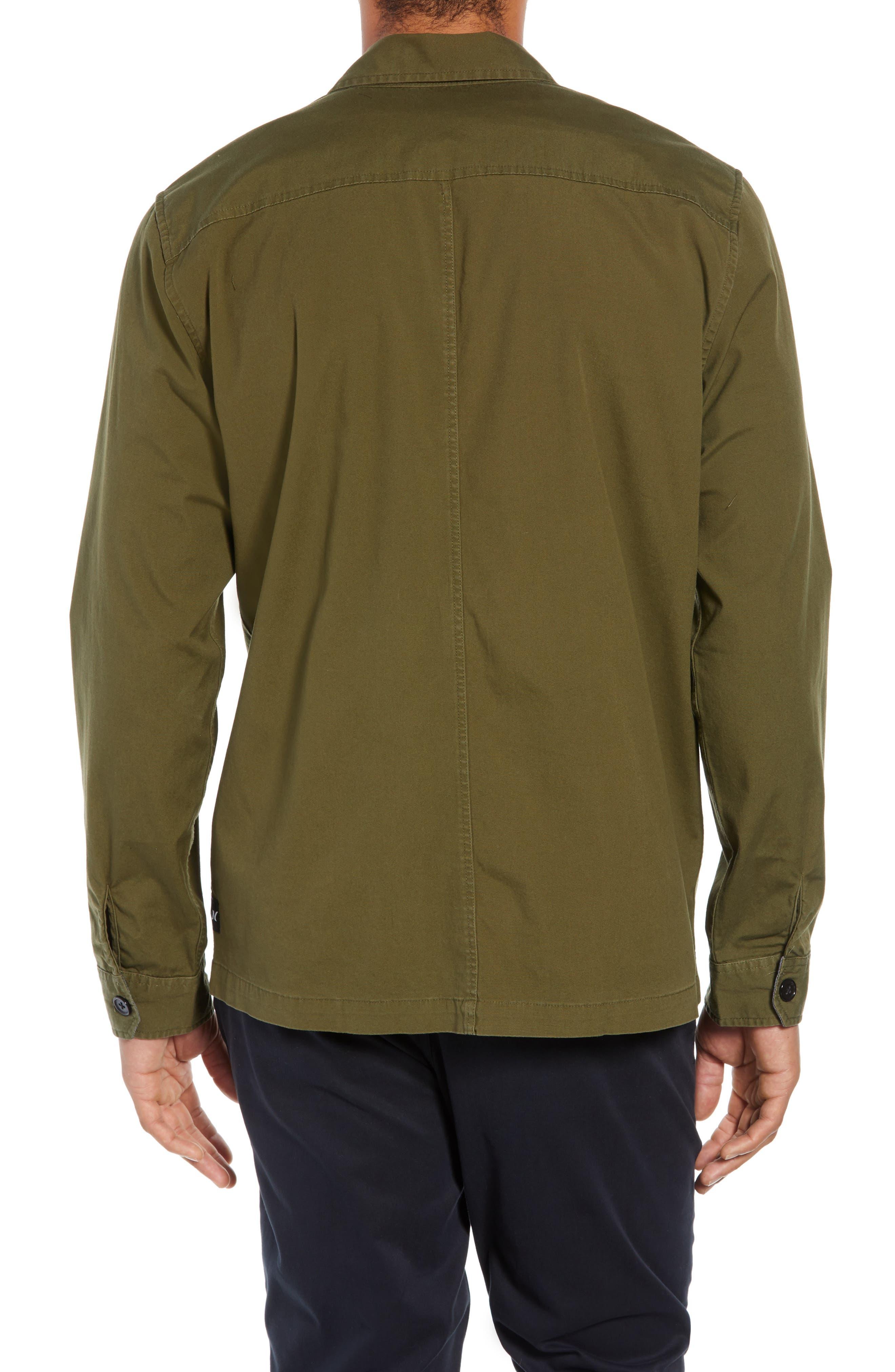 Lt. Dan Military Shirt Jacket,                             Alternate thumbnail 2, color,                             OLIVE CANVAS