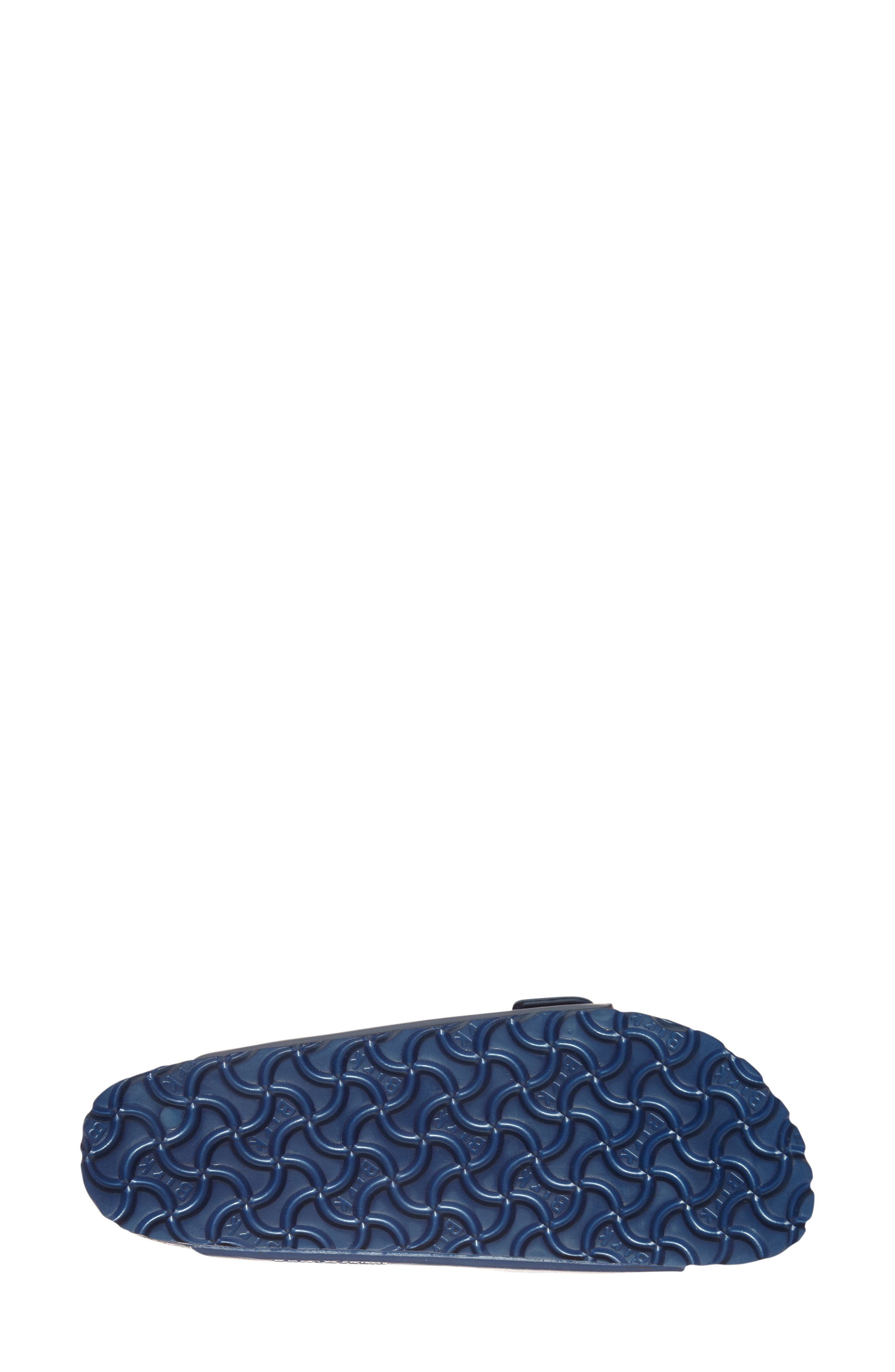 Essentials - Arizona Slide Sandal,                             Alternate thumbnail 4, color,                             NAVY EVA
