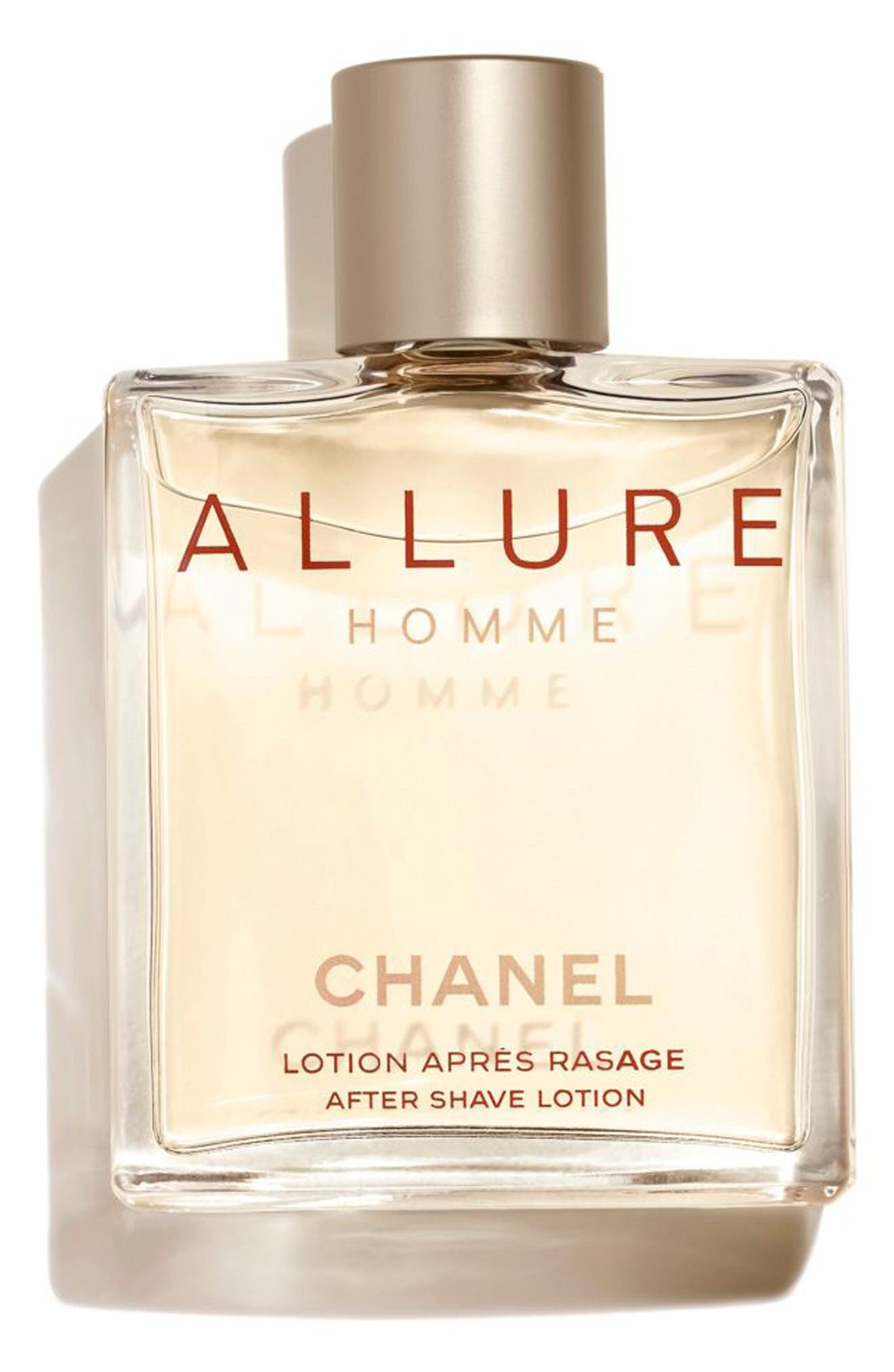 CHANEL,                             ALLURE HOMME<br />After Shave Lotion,                             Alternate thumbnail 2, color,                             001