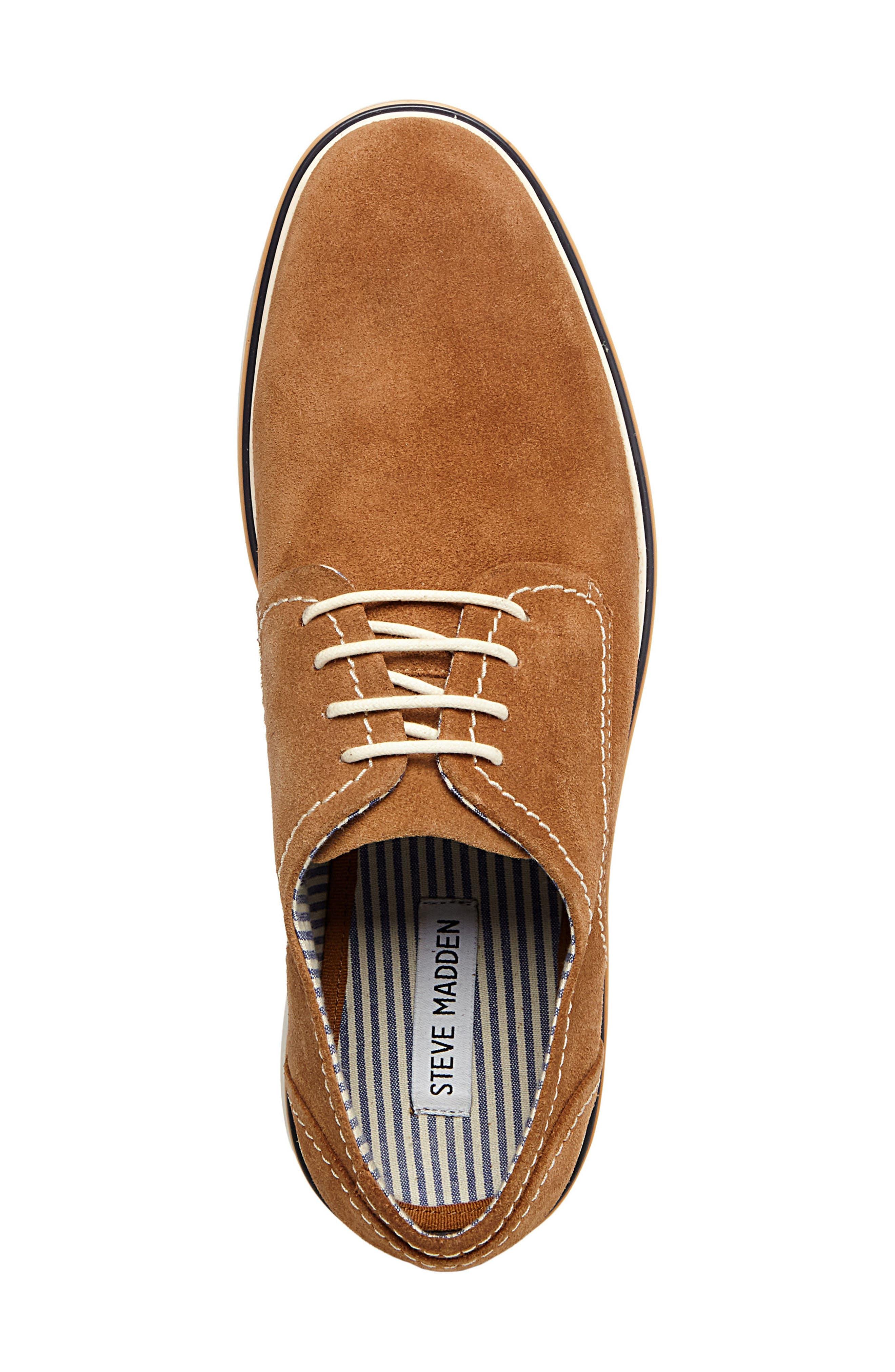 Frick Buck Shoe,                             Alternate thumbnail 5, color,                             TAN SUEDE