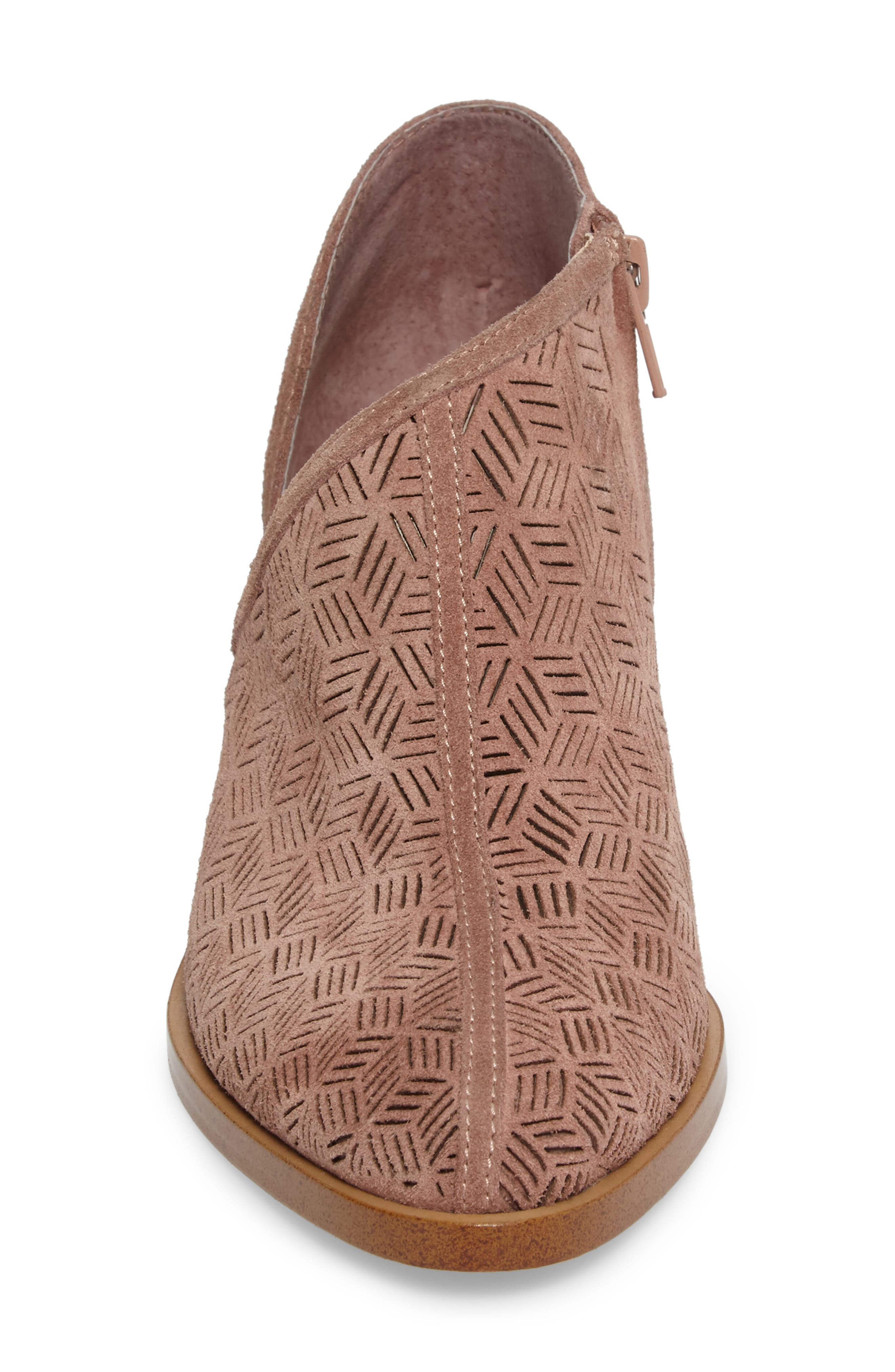 Iddah Perforated Cutaway Bootie,                             Alternate thumbnail 24, color,