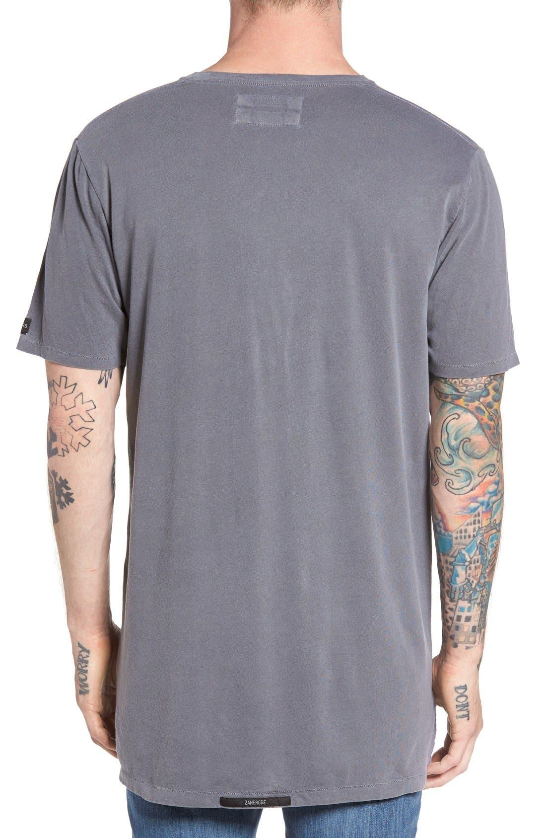 Flintlock Longline T-Shirt,                             Alternate thumbnail 6, color,                             029