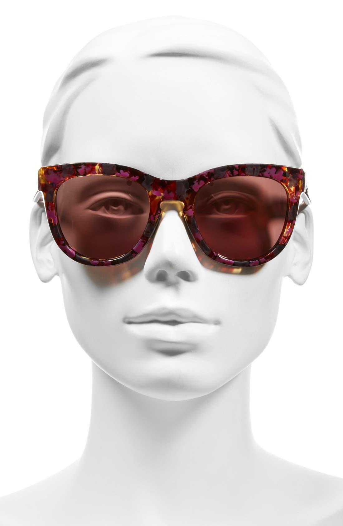 'Sidney' 52mm Sunglasses,                             Alternate thumbnail 5, color,