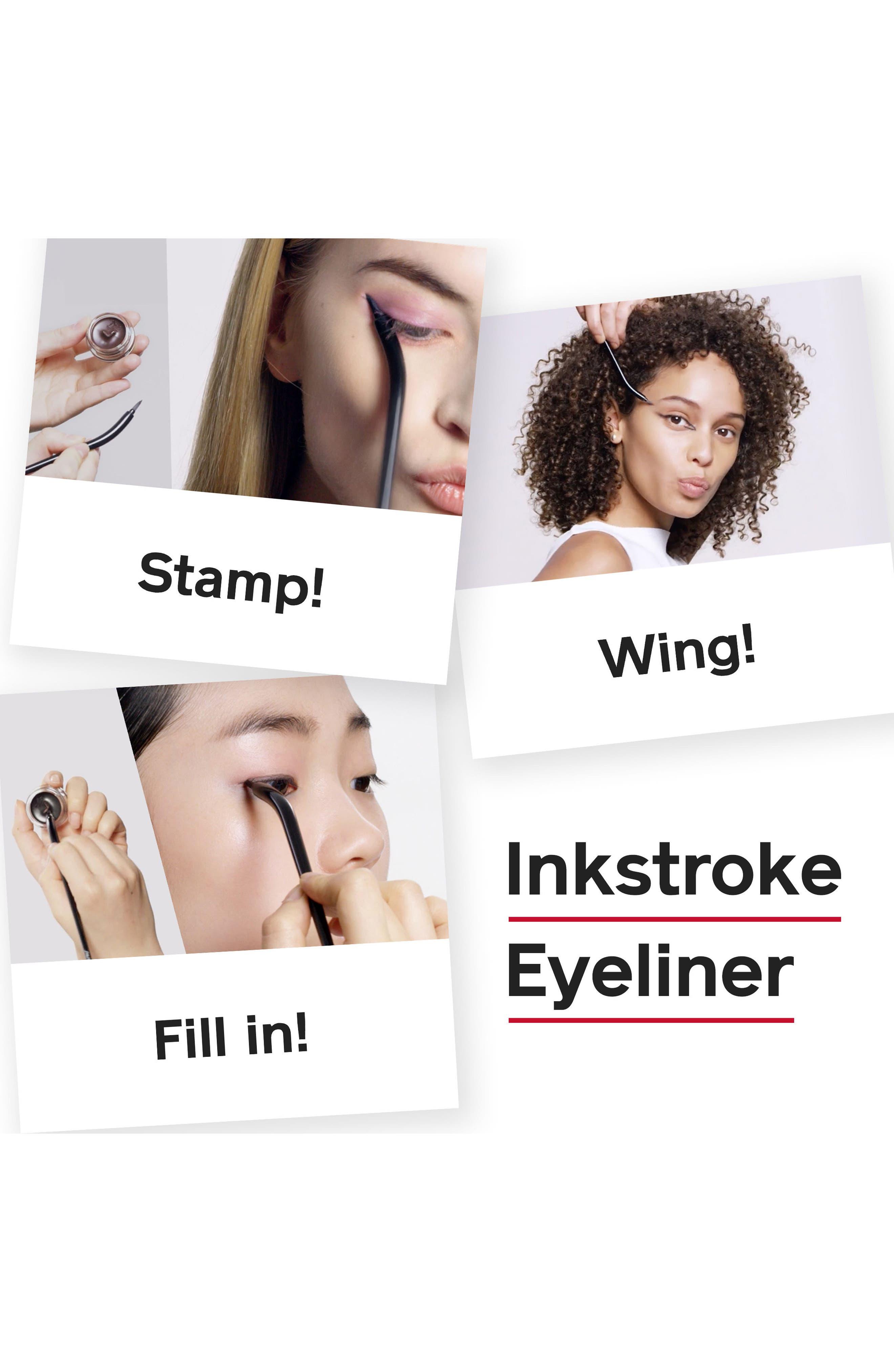 Inkstroke Eyeliner,                             Alternate thumbnail 4, color,                             001