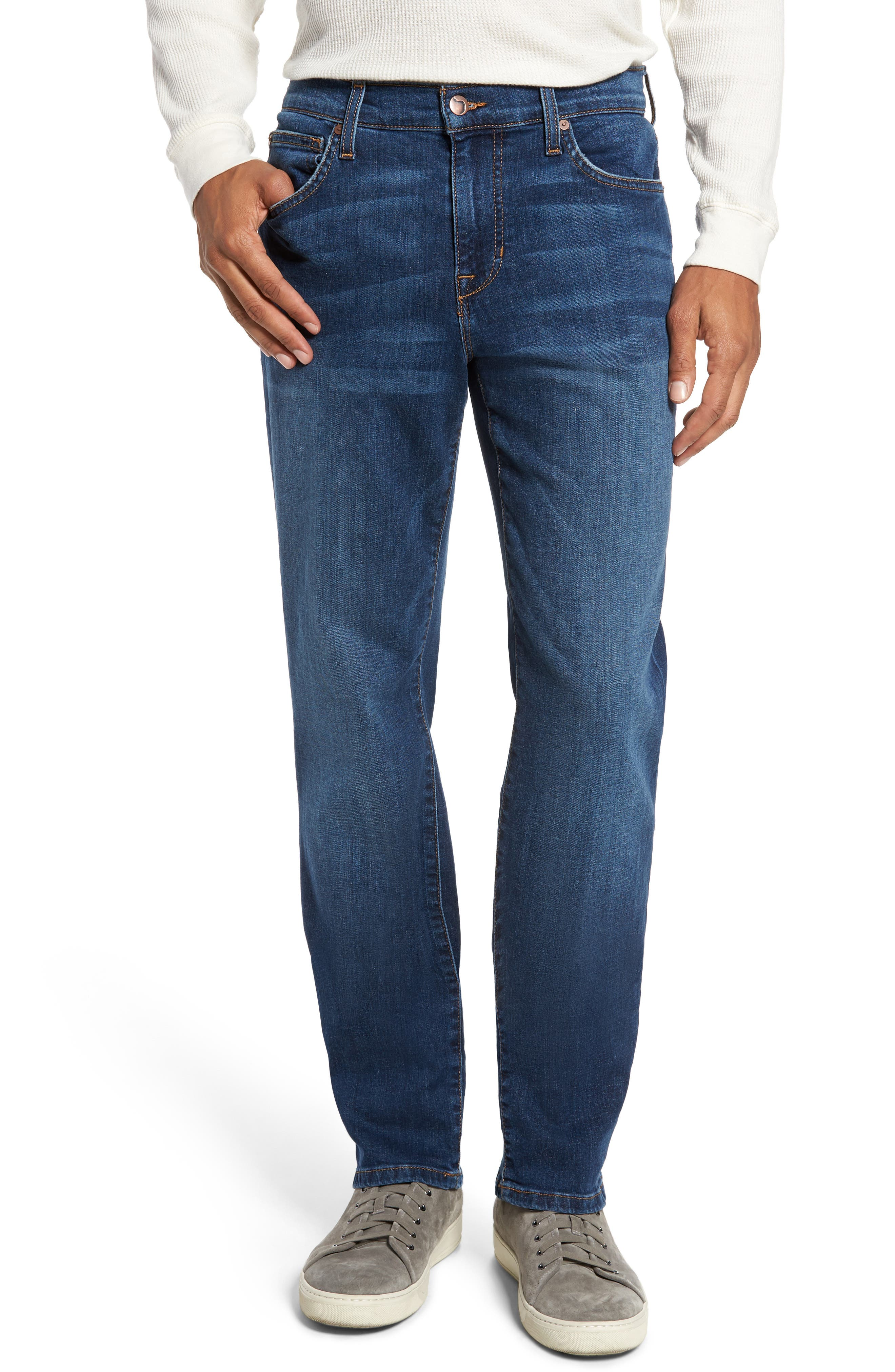 Brixton Slim Straight Leg Jeans,                             Main thumbnail 1, color,                             410