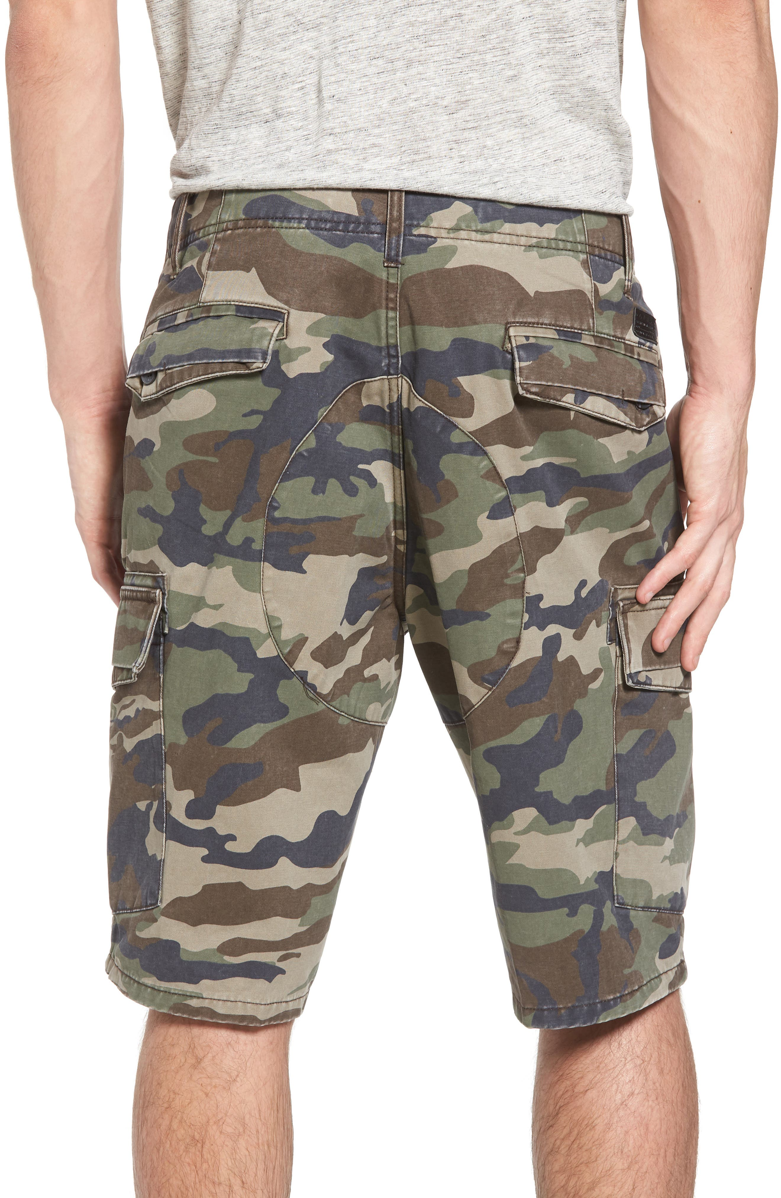 Campbell Cargo Shorts,                             Alternate thumbnail 4, color,