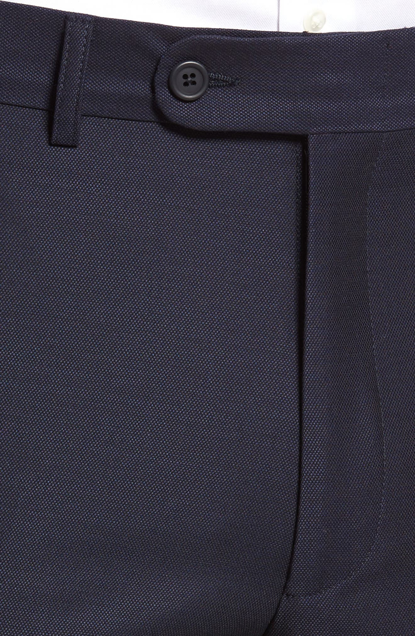 Pin Dot Wool Trousers,                             Alternate thumbnail 10, color,