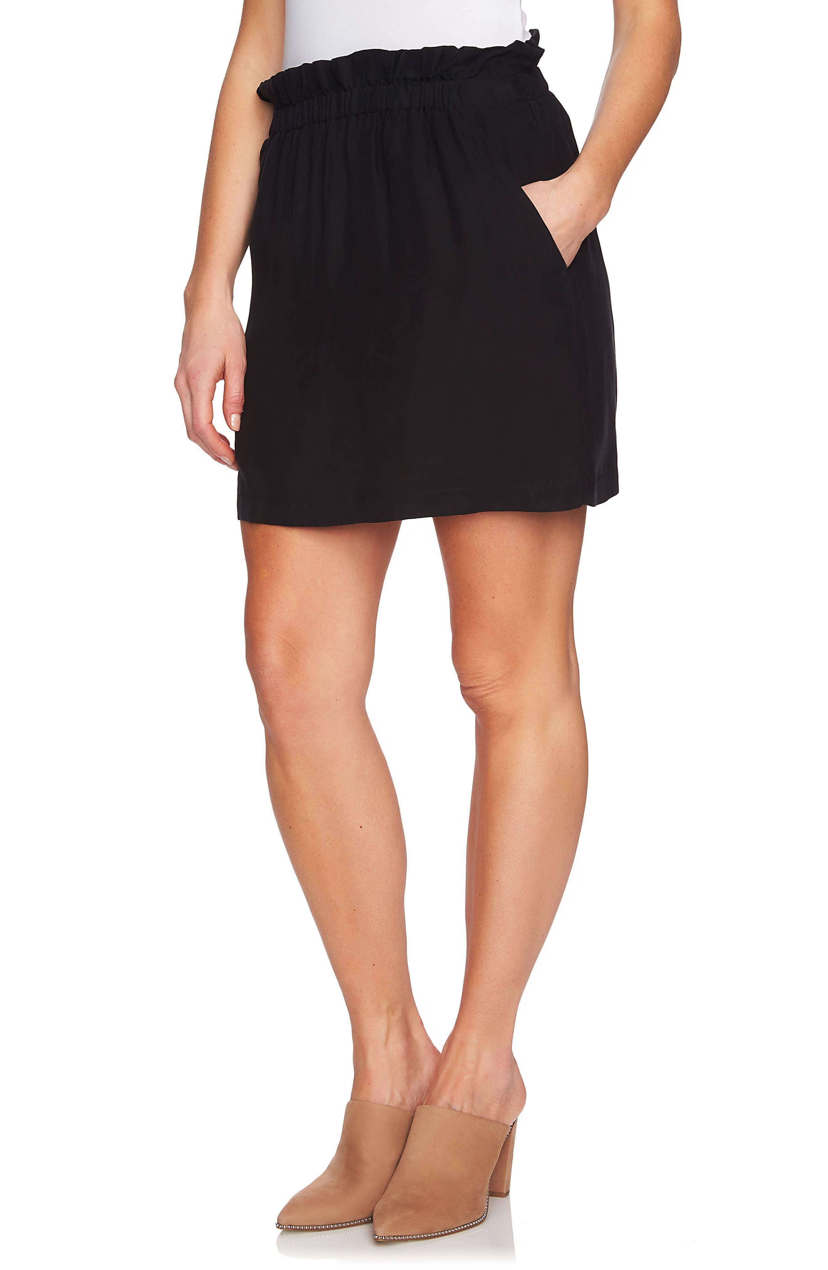 Paperbag Miniskirt,                             Alternate thumbnail 3, color,                             006