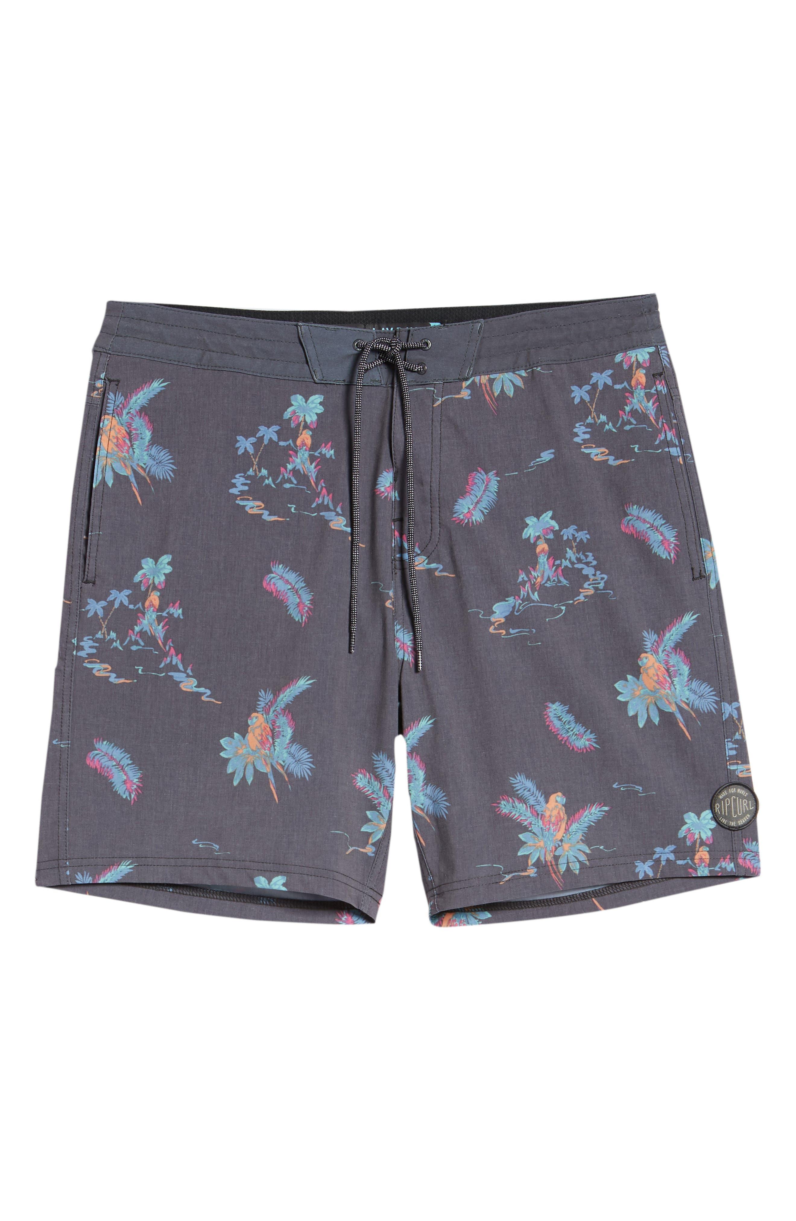 Vacay Layday Board Shorts,                             Alternate thumbnail 6, color,                             020