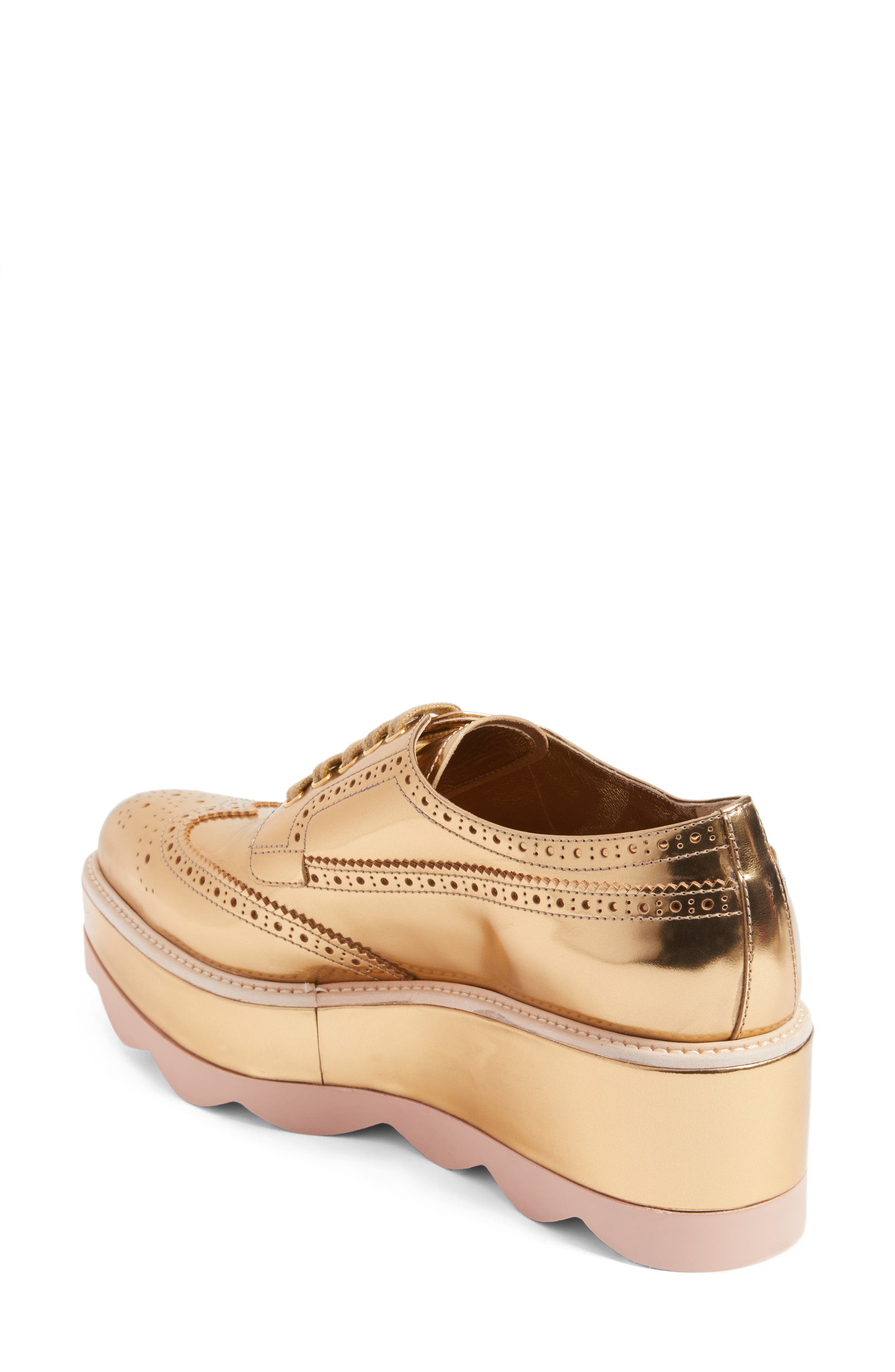 Scalloped Platform Oxford,                             Alternate thumbnail 12, color,