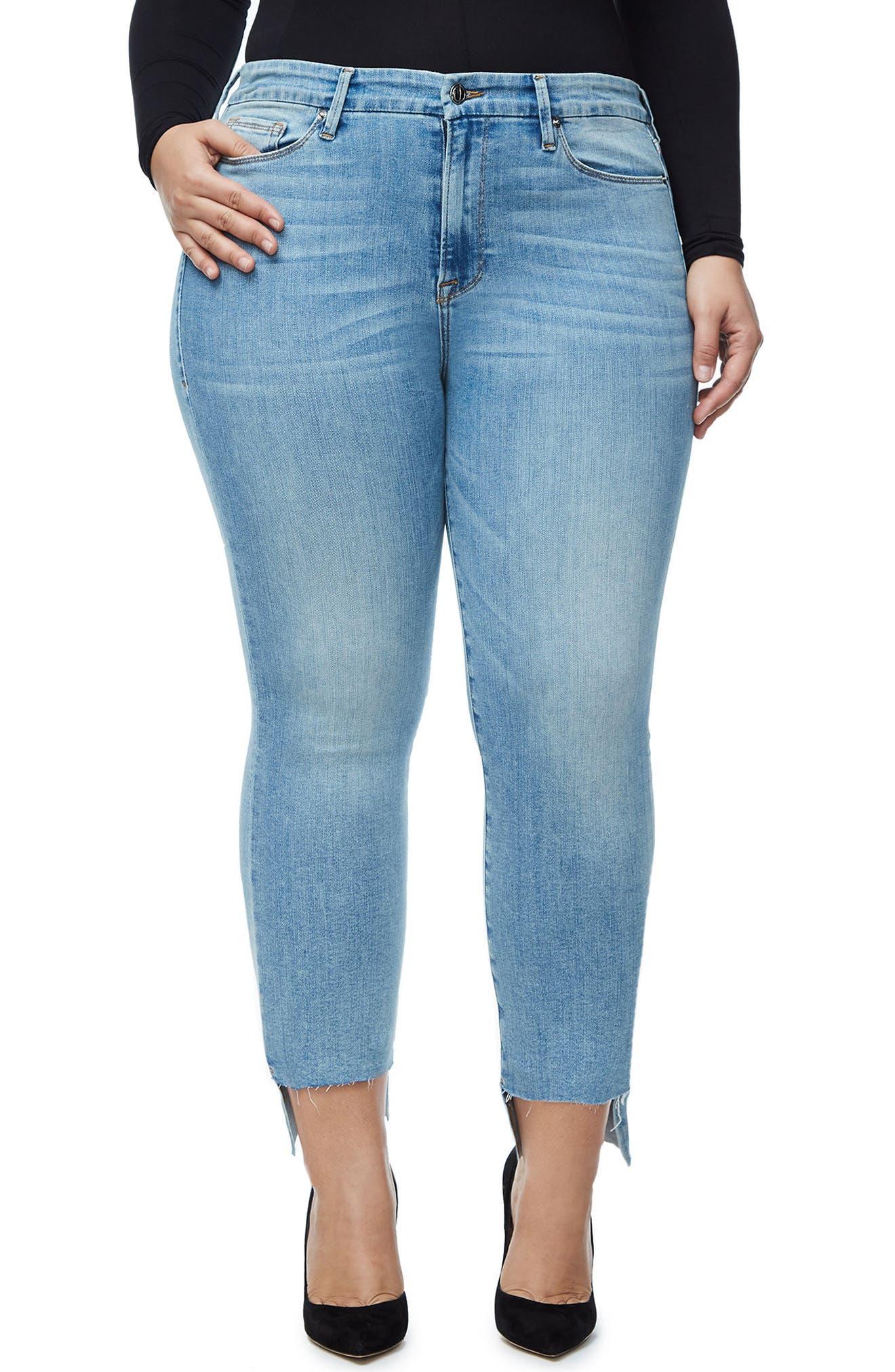 Good Legs High Waist Ankle Skinny Jeans,                         Main,                         color, 401