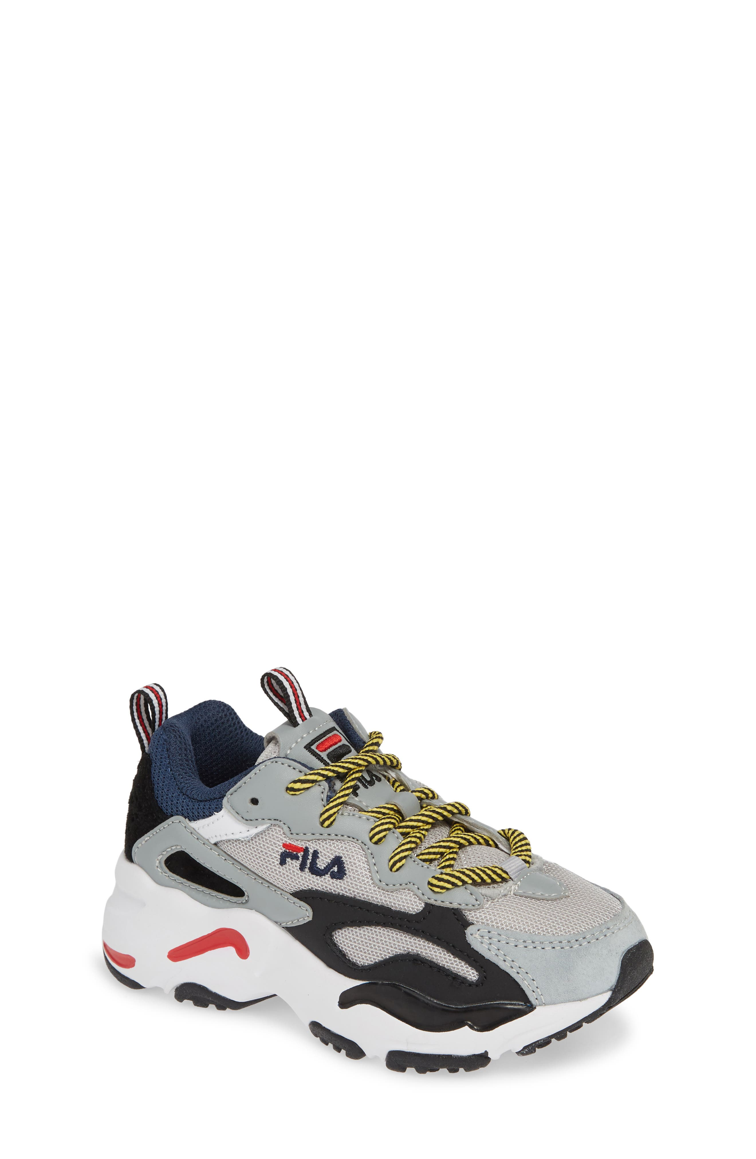 FILA,                             Ray Tracer Sneaker,                             Main thumbnail 1, color,                             VAPOR BLUE/ HIGHRISE/ BLACK