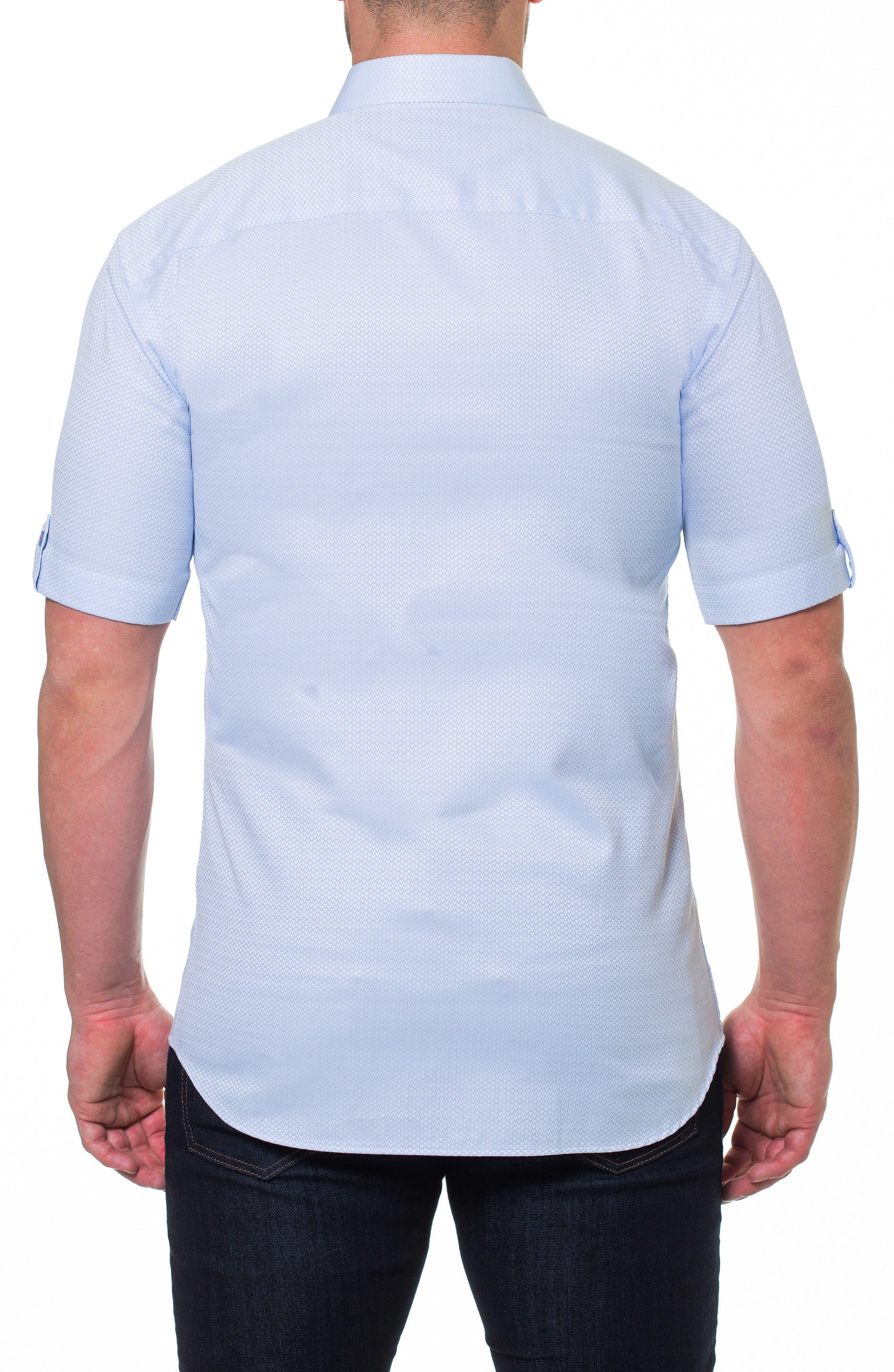 Fresh Heart Blue Slim Fit Sport Shirt,                             Alternate thumbnail 2, color,