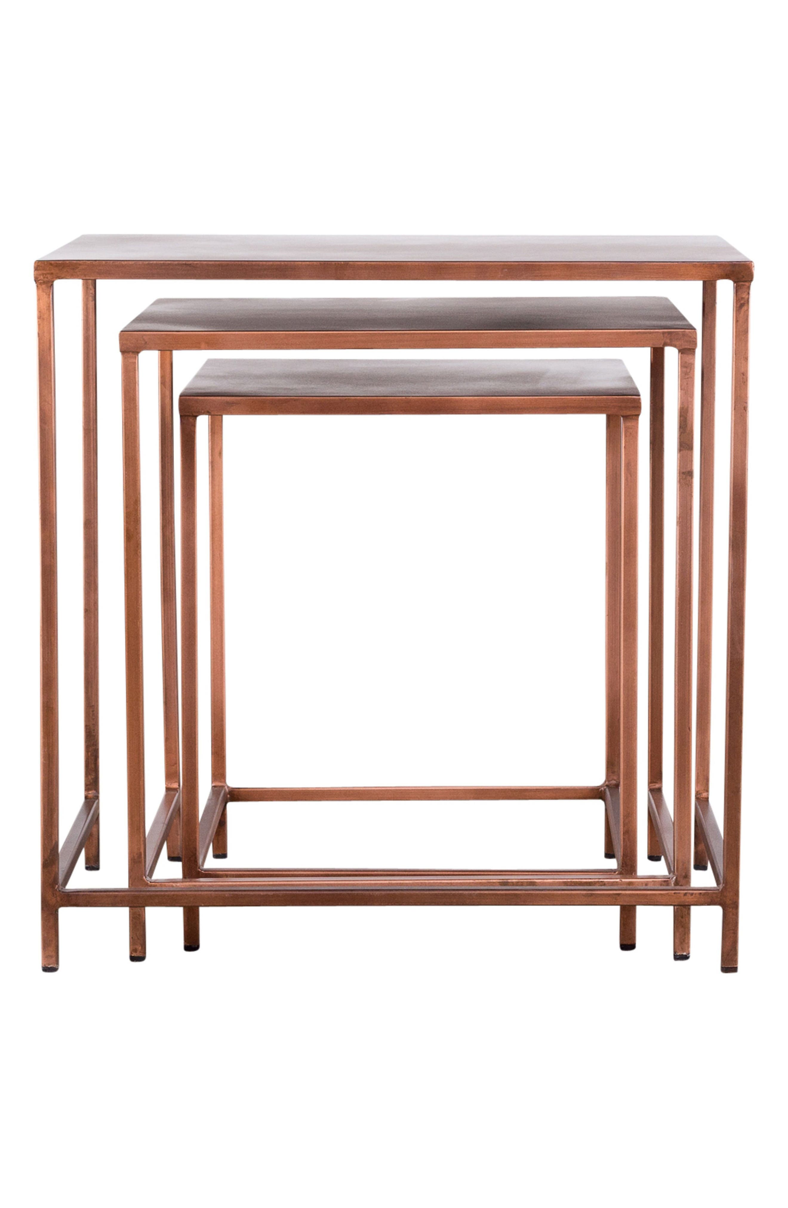 Pollock Set of 3 Nesting Tables,                             Main thumbnail 1, color,                             220