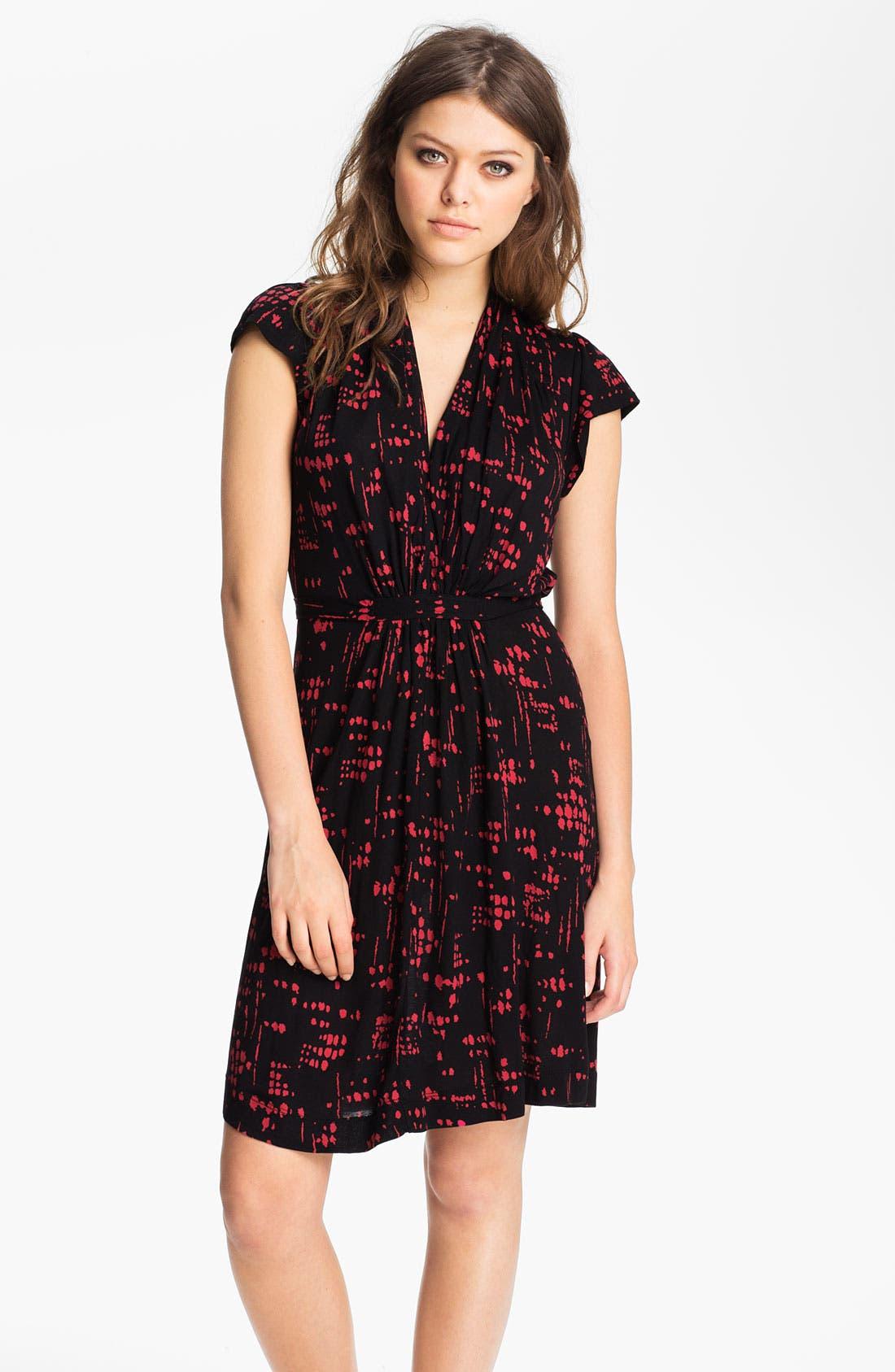 'USA Paint Splash' Dress, Main, color, 018