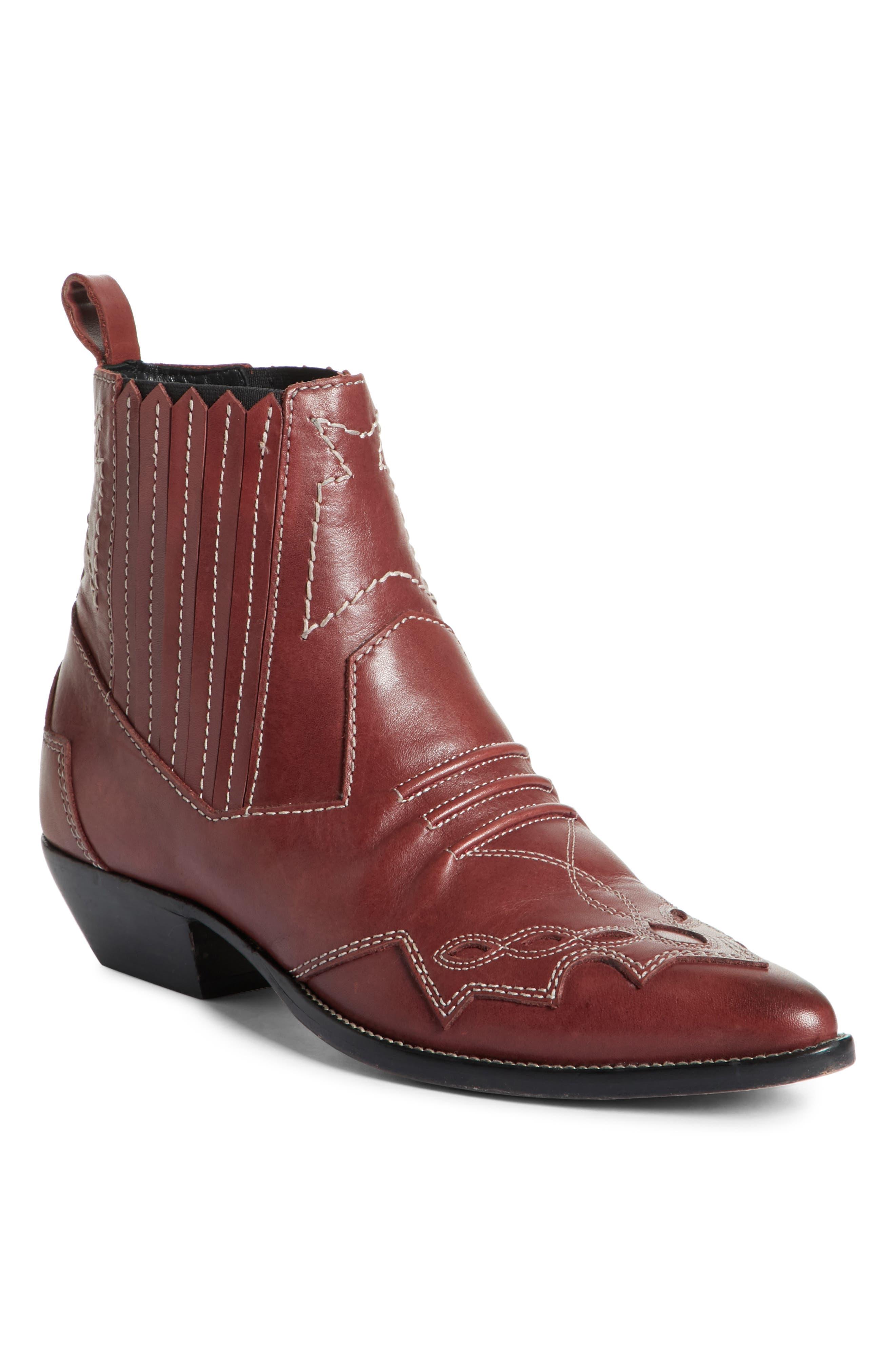 ROSEANNA Tucson Boot in Bordeaux