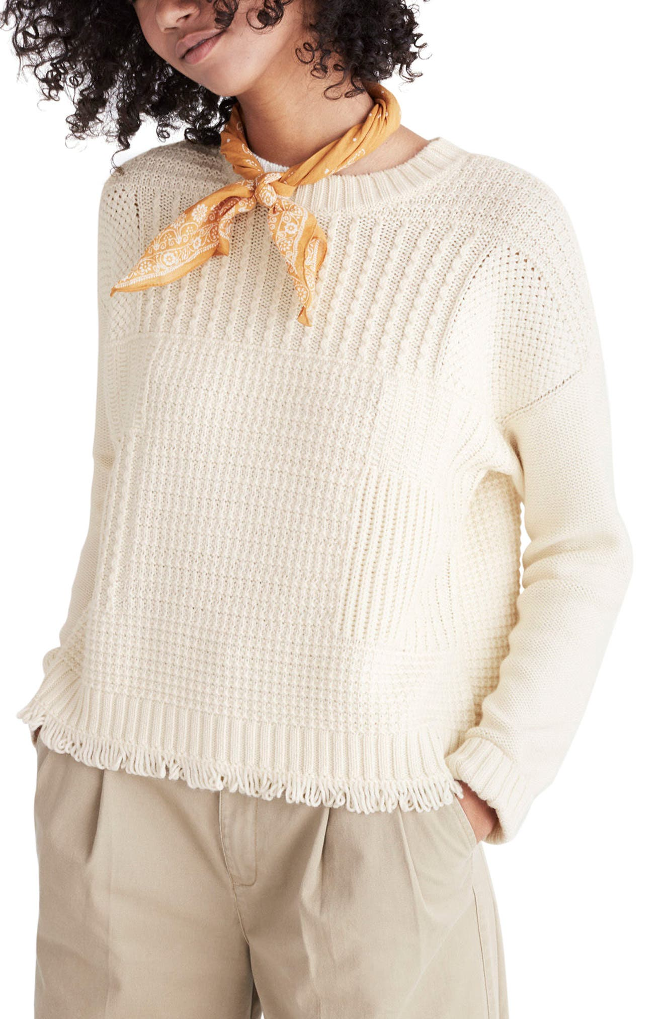 Stitchmix Pullover, Main, color, 100