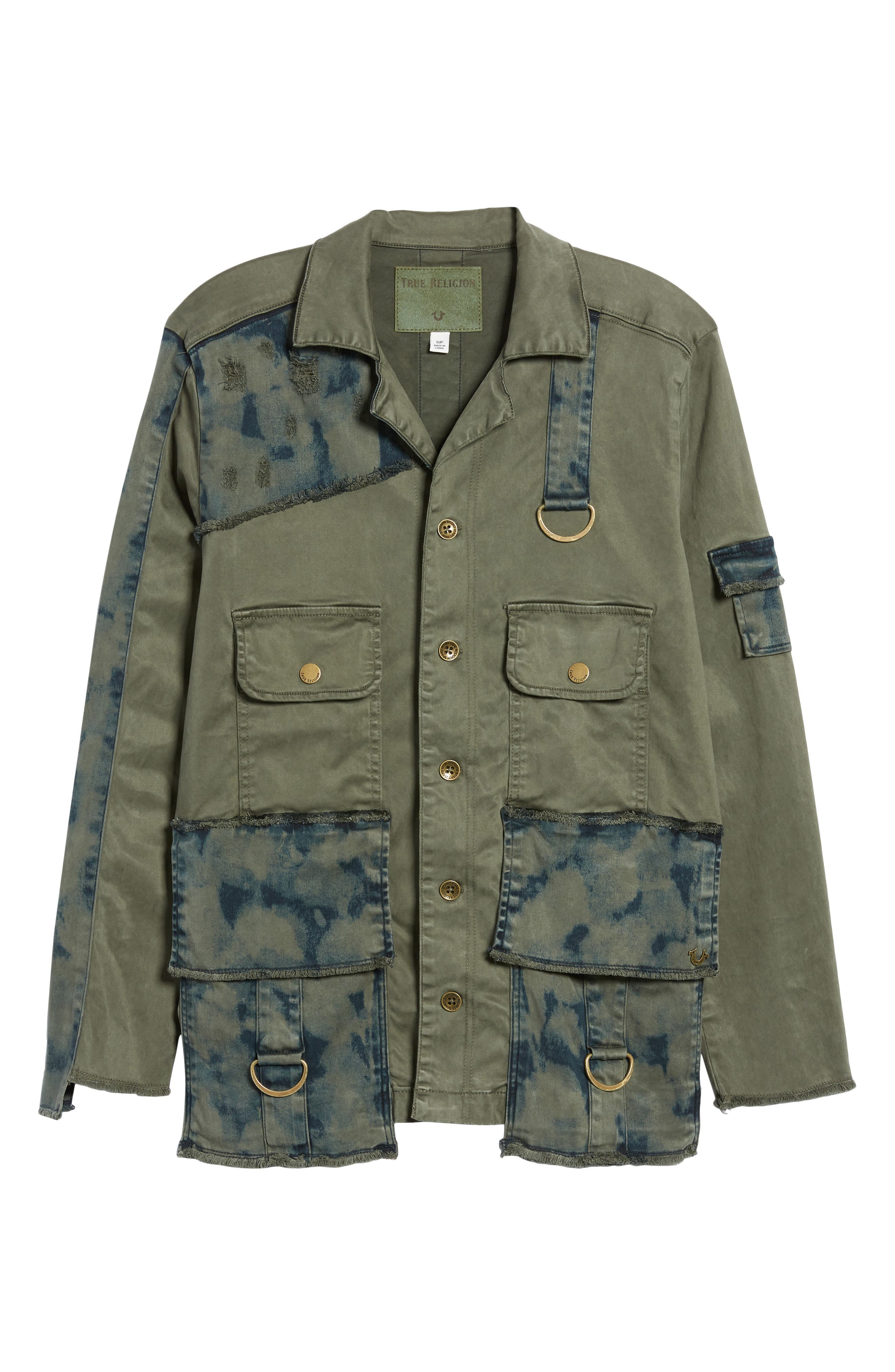 Military Jacket,                             Alternate thumbnail 6, color,                             300