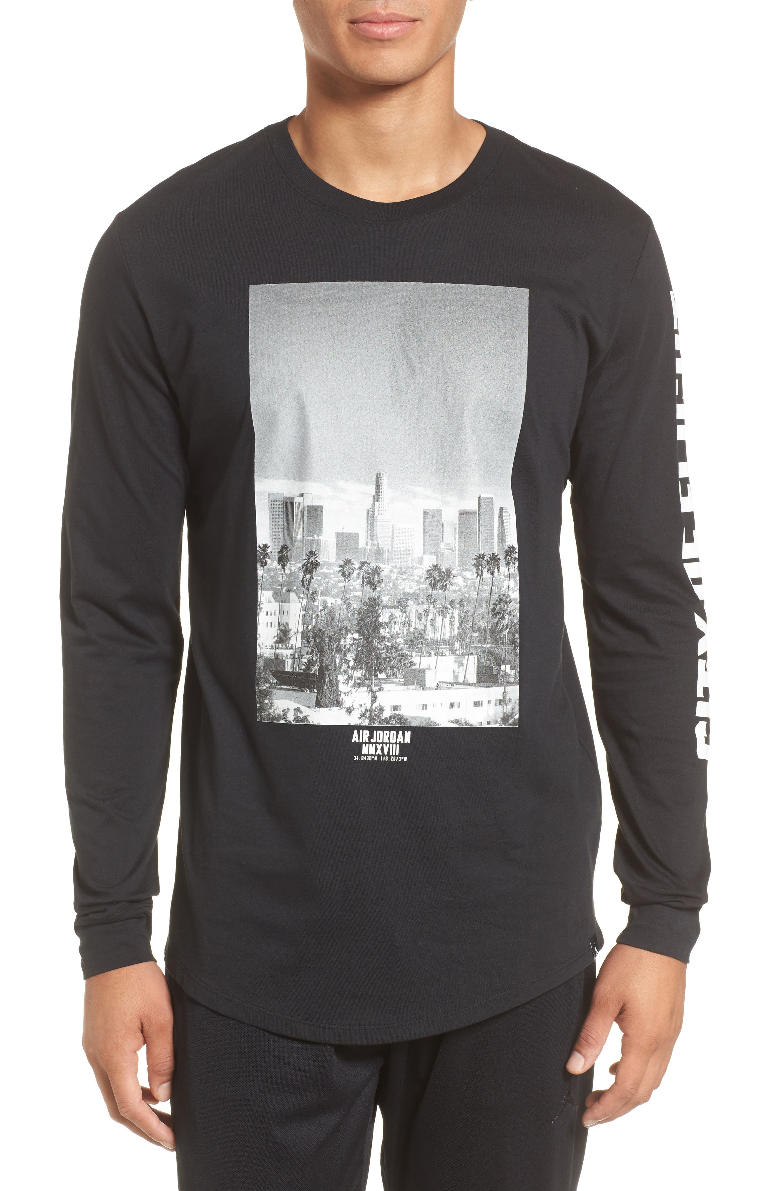 City of Flight T-Shirt,                             Main thumbnail 1, color,                             010