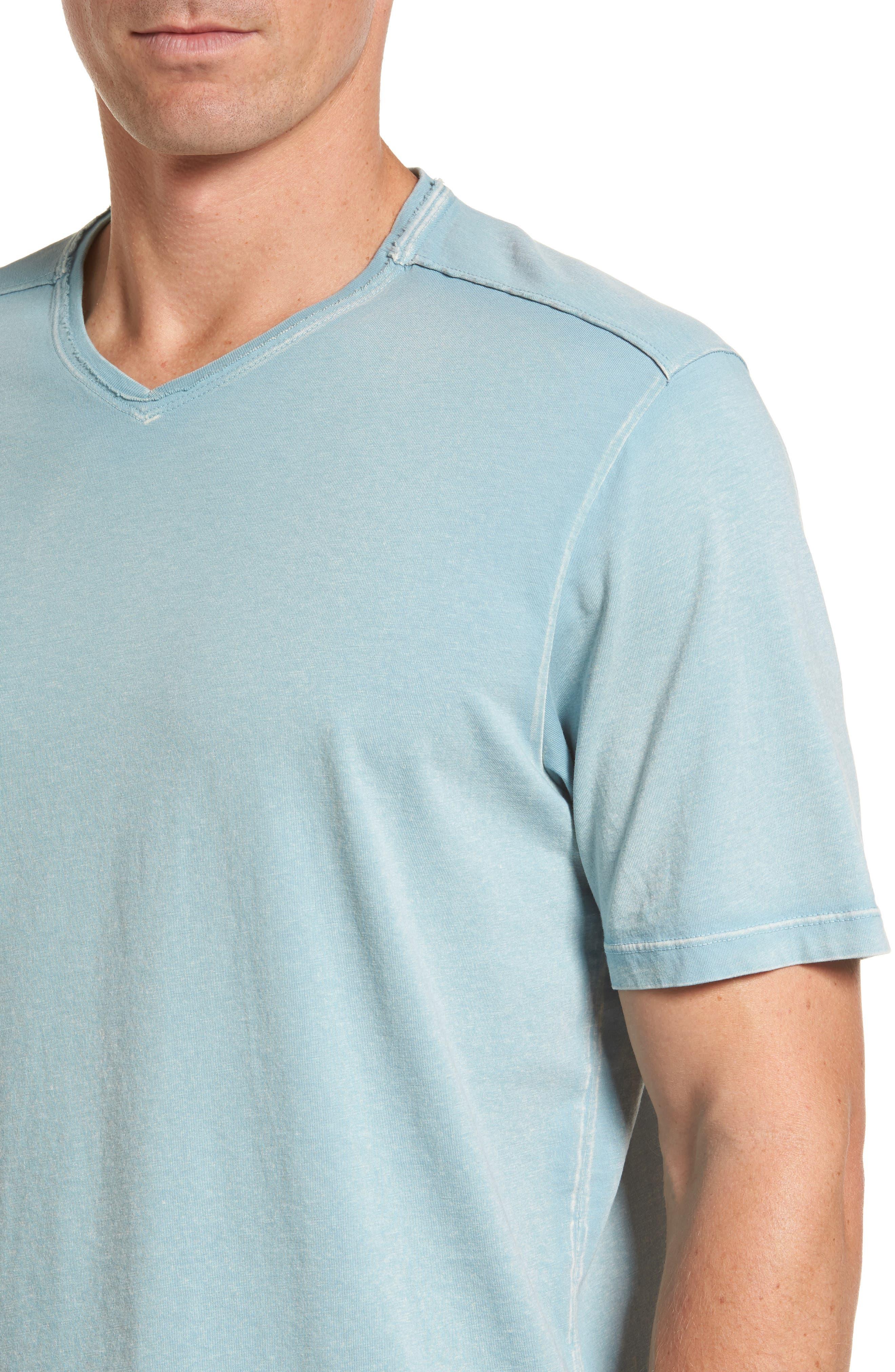 'Kahuna' V-Neck T-Shirt,                             Alternate thumbnail 4, color,                             303