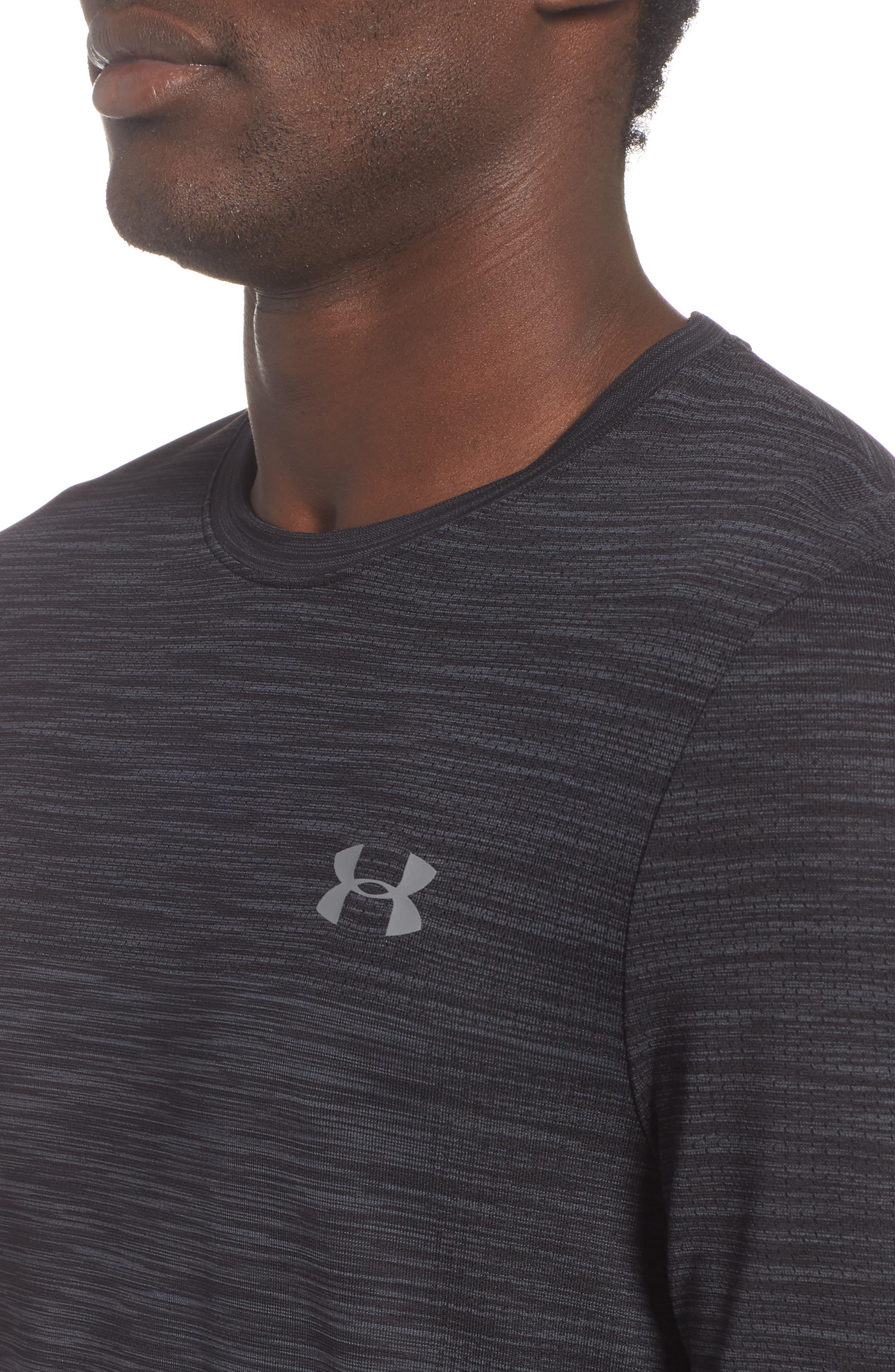 Siphon Performance T-Shirt,                             Alternate thumbnail 4, color,                             BLACK