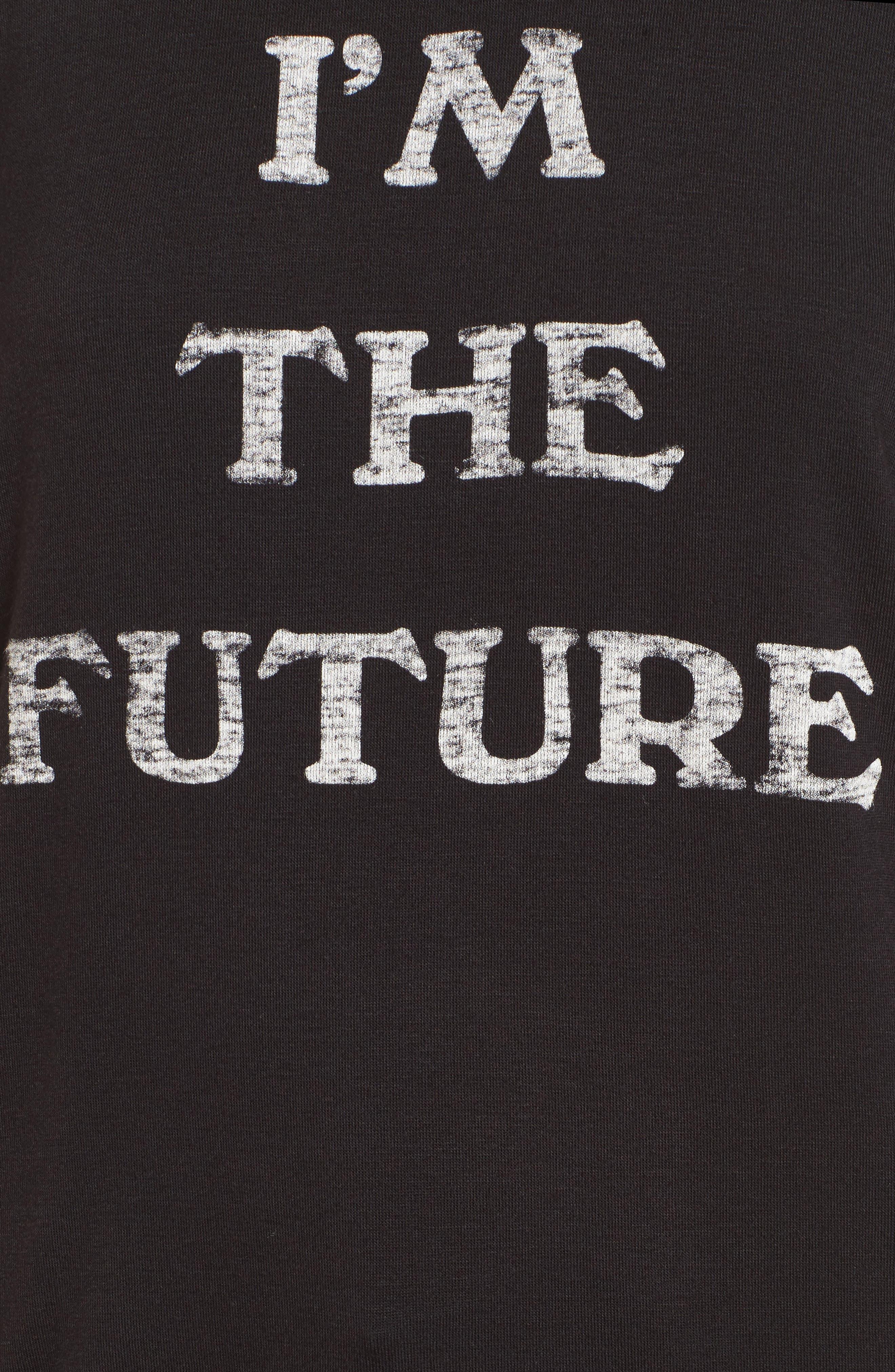 I'm the Future Graphic Tee,                             Alternate thumbnail 5, color,                             001