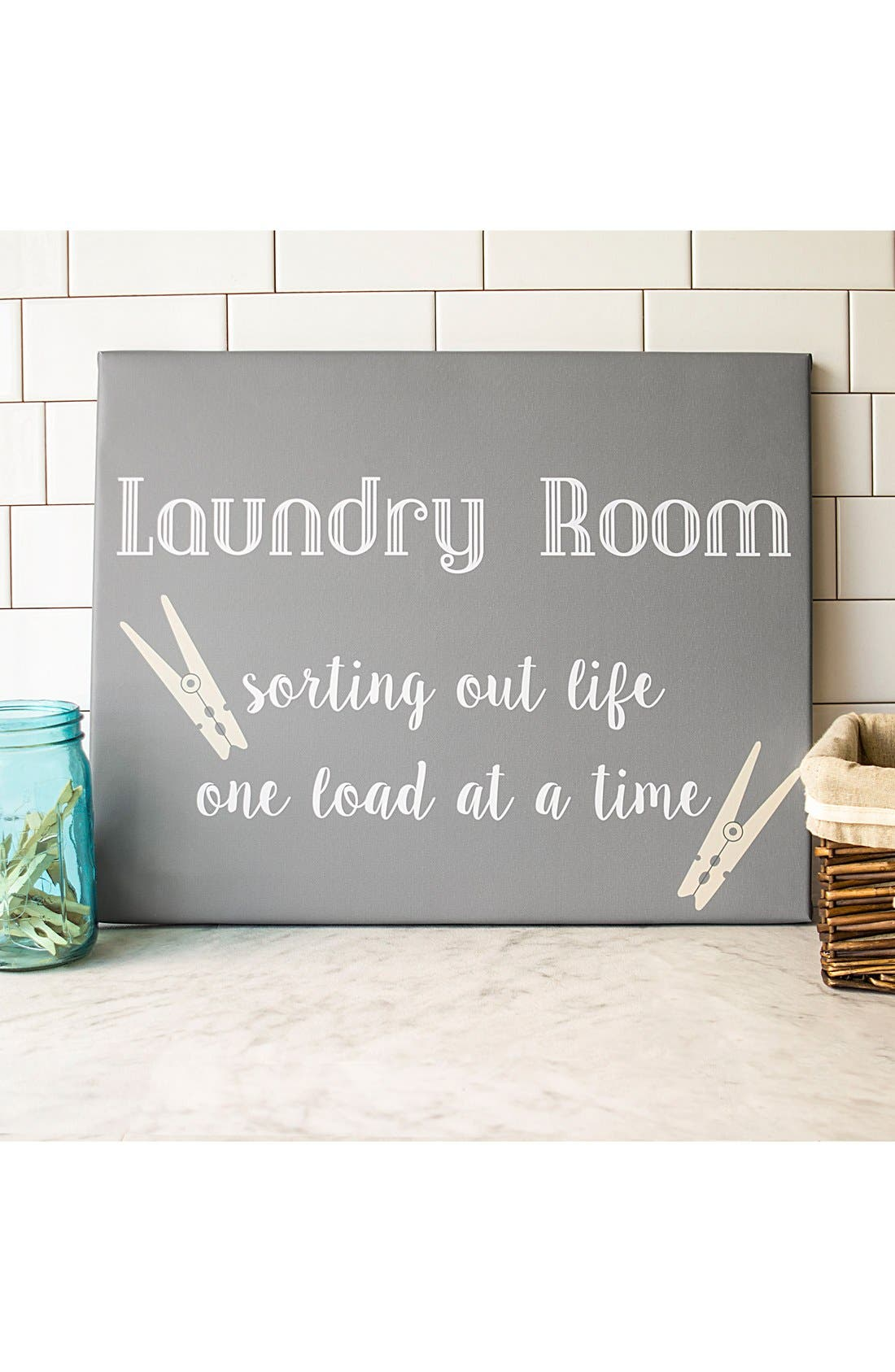 Laundry Room Sign,                             Main thumbnail 1, color,