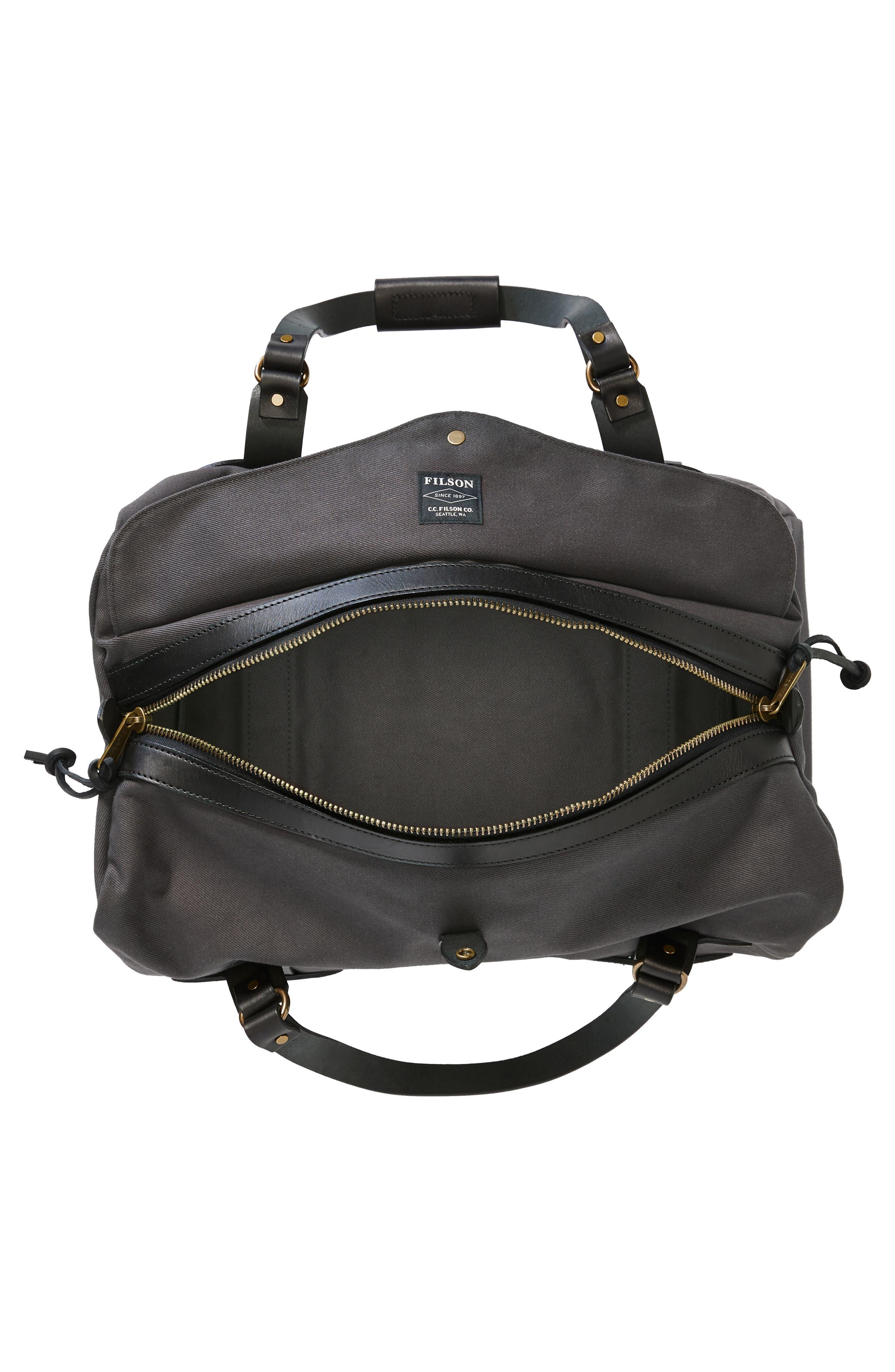 Medium Duffel Bag,                             Alternate thumbnail 3, color,                             CINDER